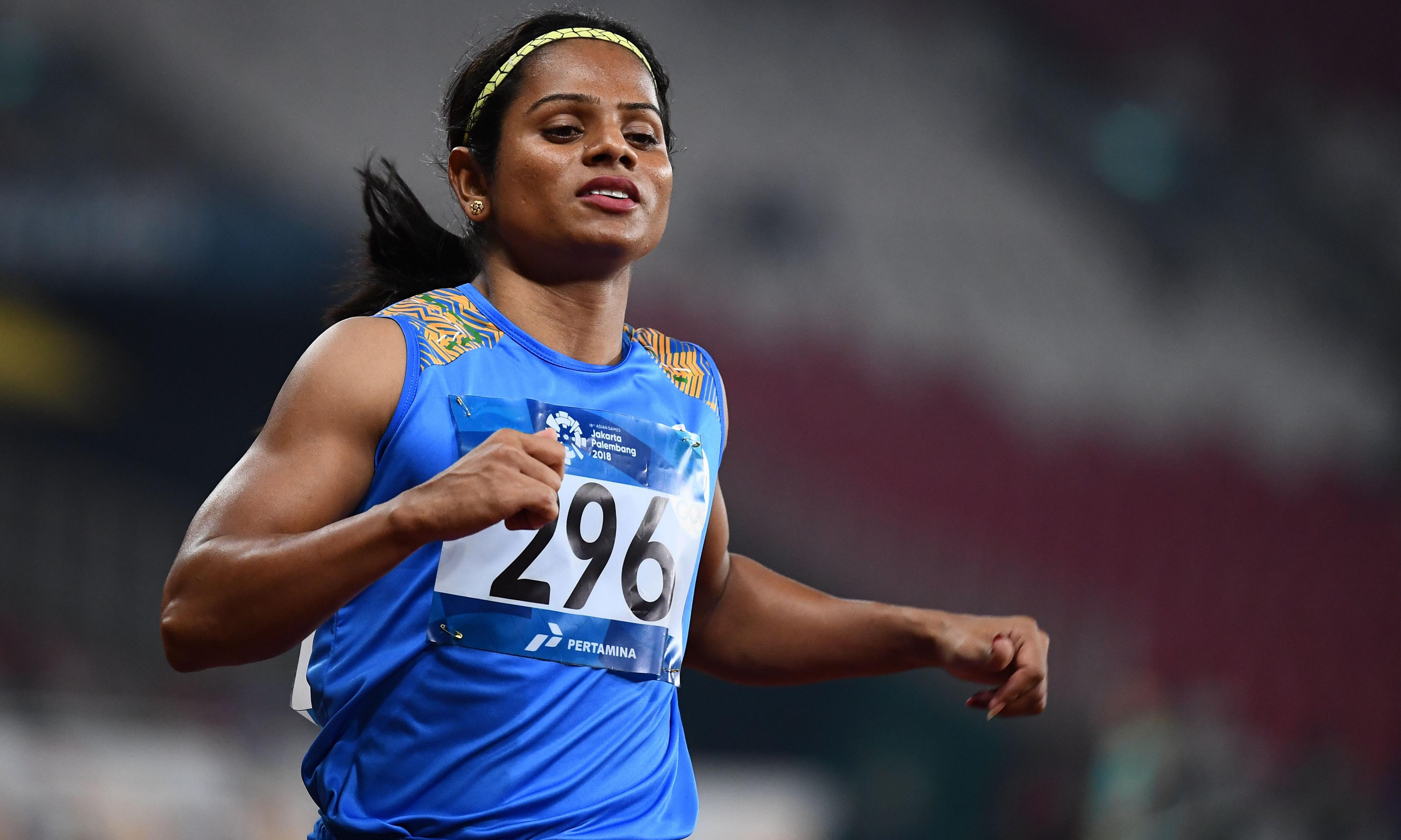 Sprinter Dutee Chand becomes India's first openly gay athlete