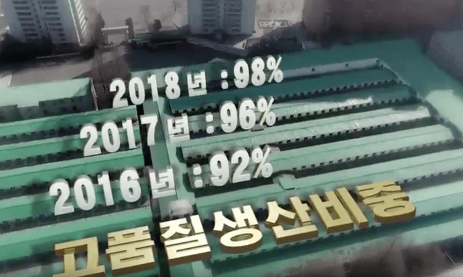 Propaganda, but with graphics: North Korea's news bulletins get a makeover