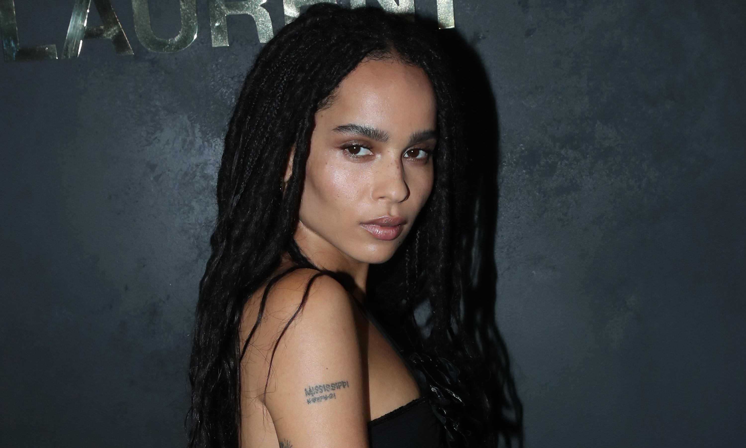 Zoë Kravitz to play Catwoman opposite Robert Pattinson's Batman