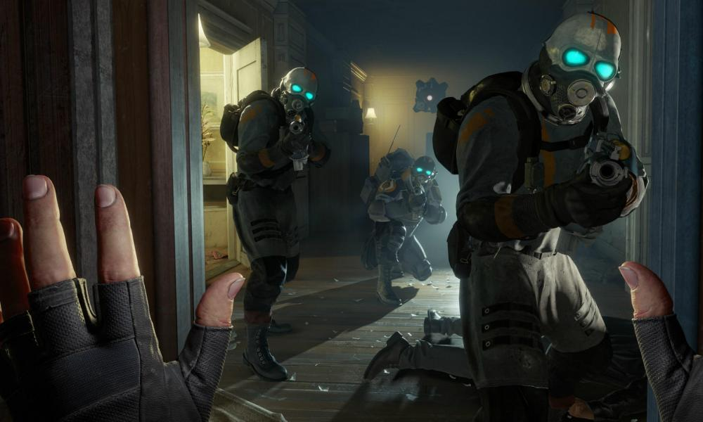 Gameplay from Half-Life: Alyx.