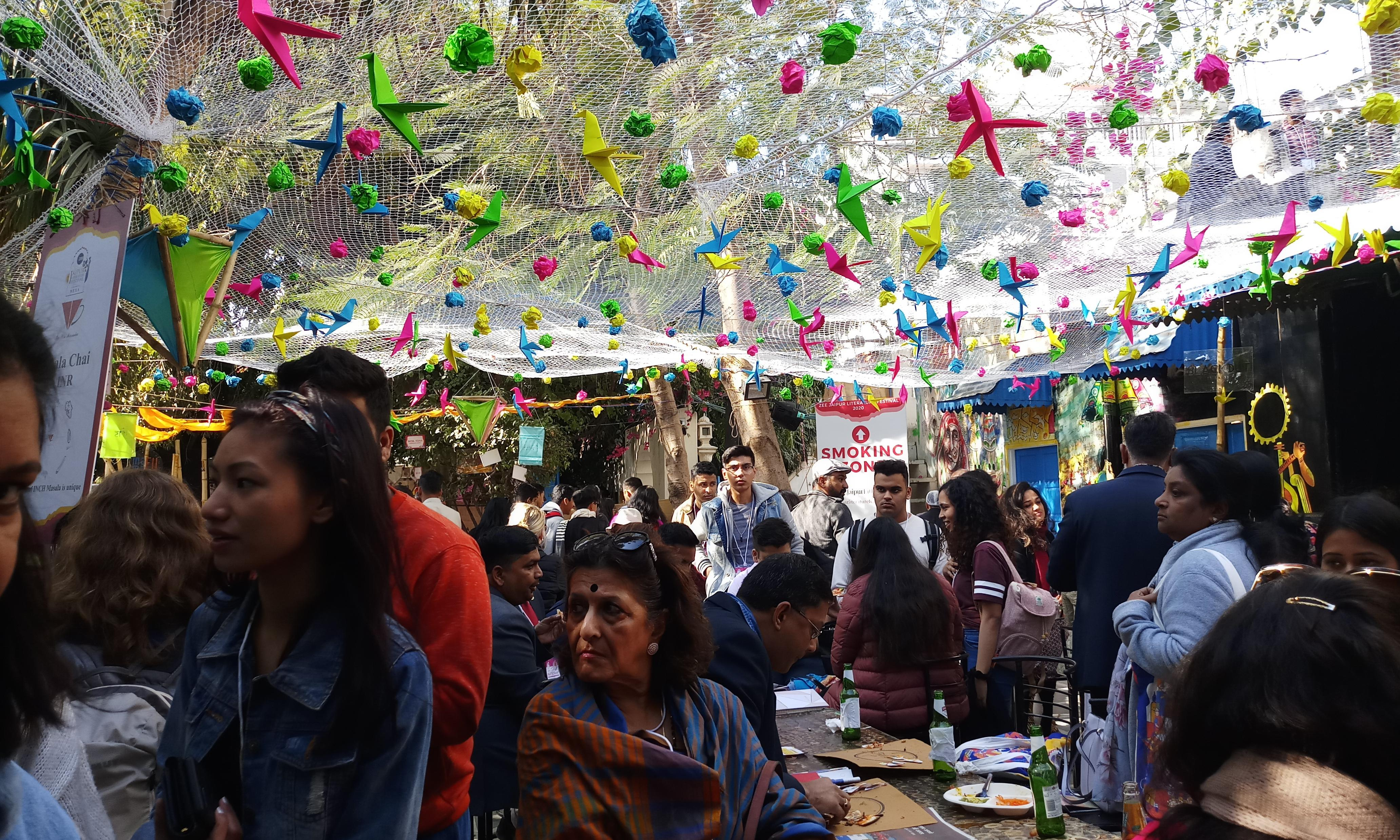 Books, Bollywood and barbs: the magic of the Jaipur literature festival