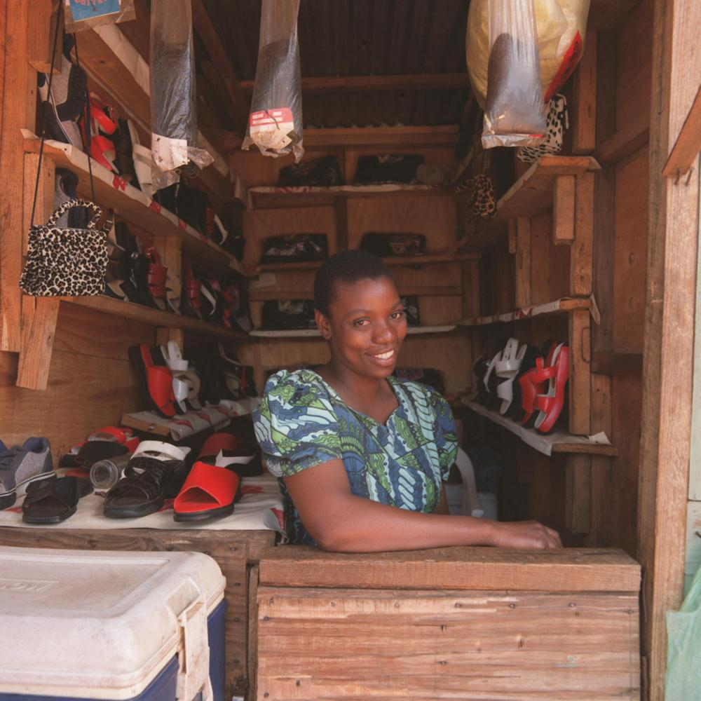 Grace Mathanga, whose plight as an HIV-positive woman in Malawi was highlighted in an article by Sarah Boseley in 2003