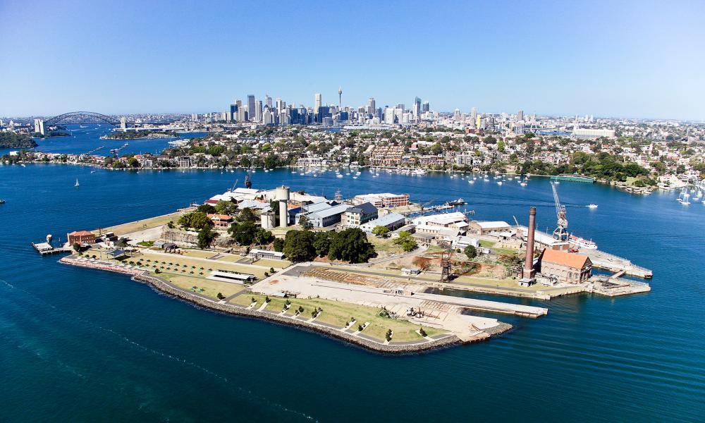 Cockatoo Island, Sydney, Australia