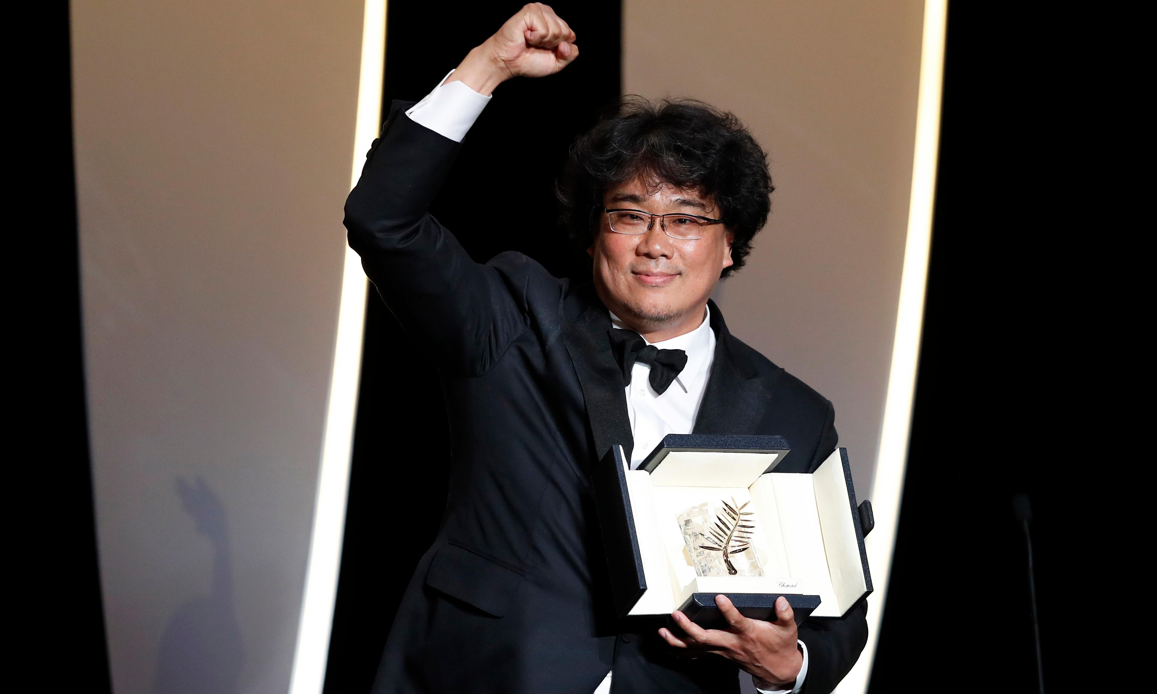 Bong Joon-ho's Parasite wins Palme d'Or at Cannes film festival