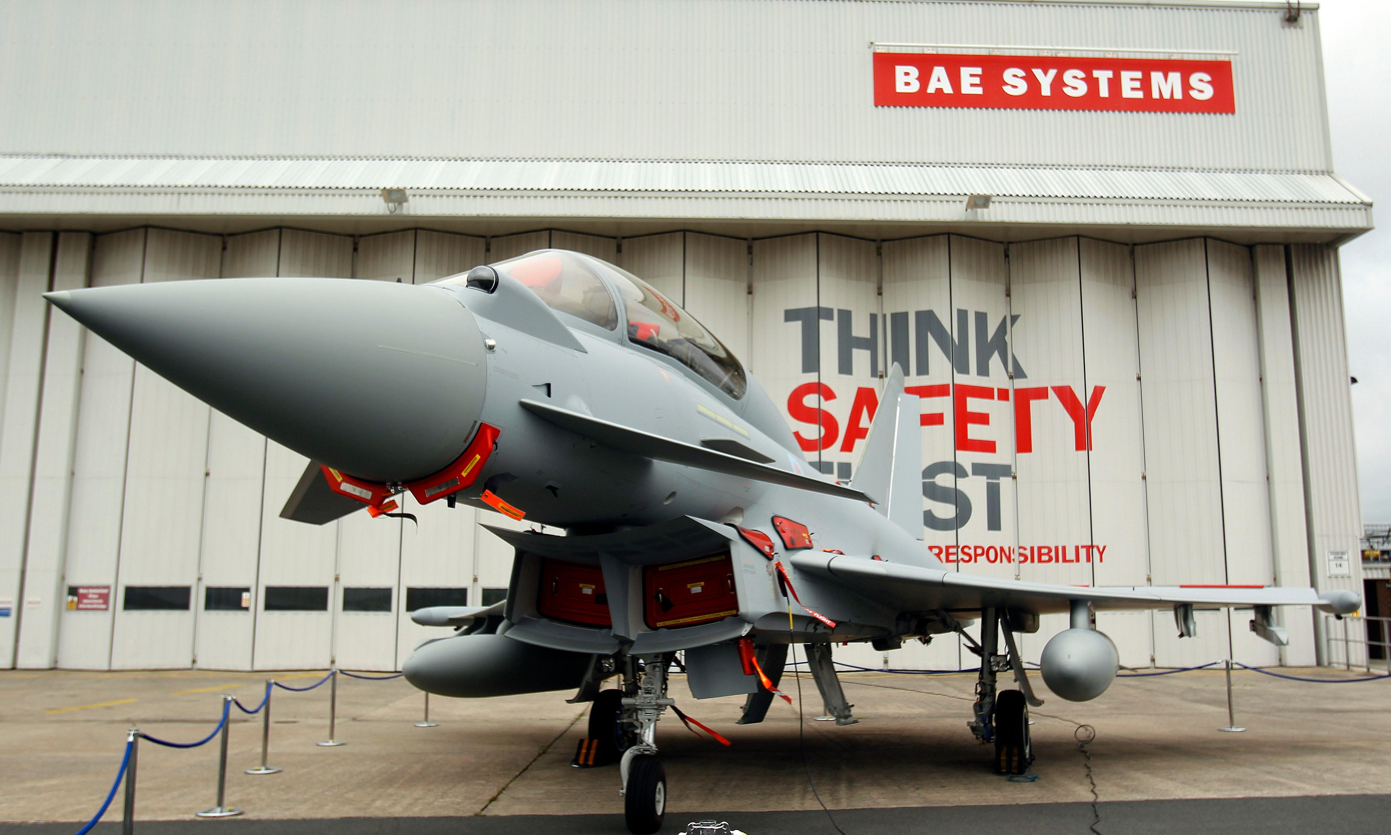 BAE Systems shares fall over Germany's ban on arms exports to Saudis