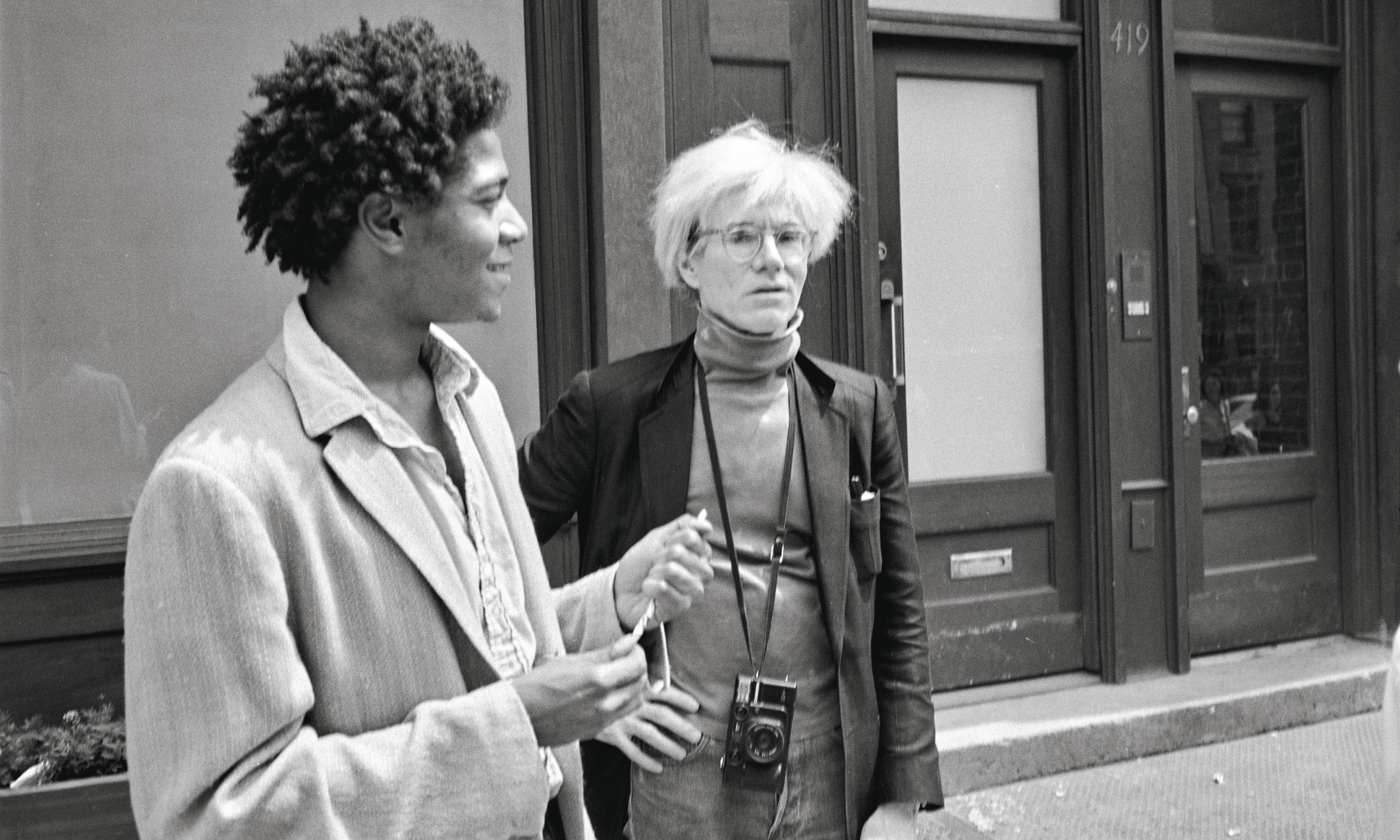 Andy Warhol's friendship with Jean-Michel Basquiat revealed in 400 unseen photos