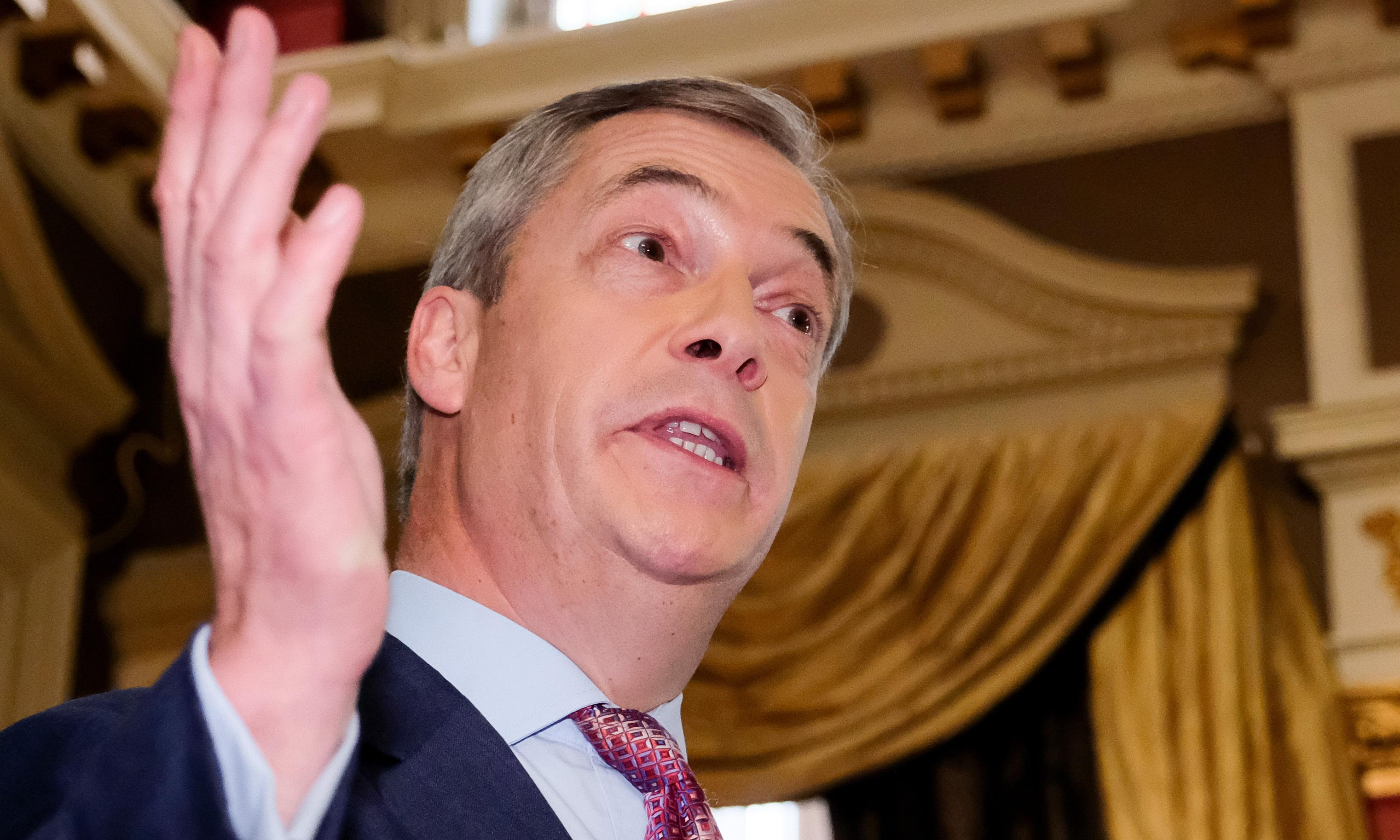 Tuesday briefing: Farage bombshell fires up campaign