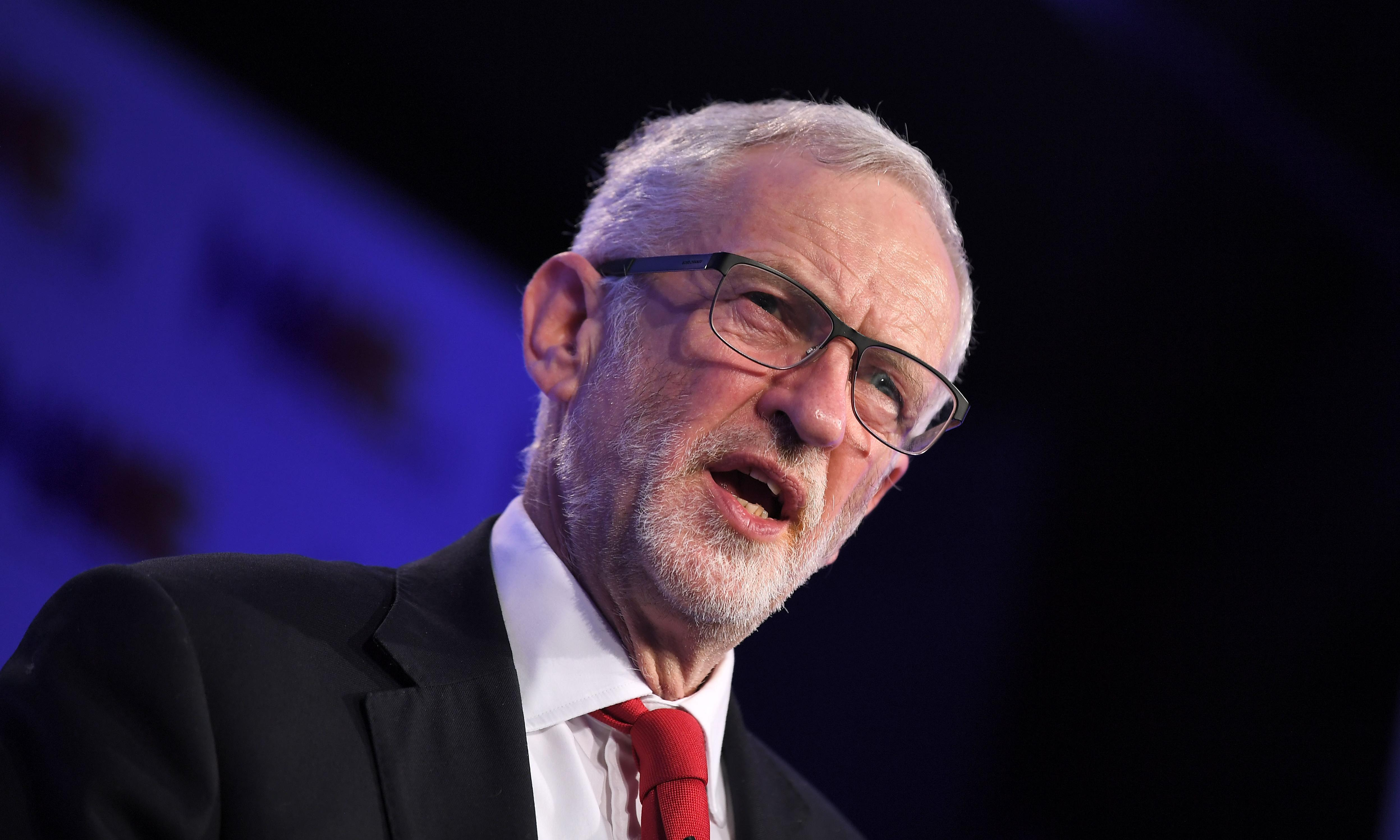Poverty and climate more important than Brexit, says Corbyn