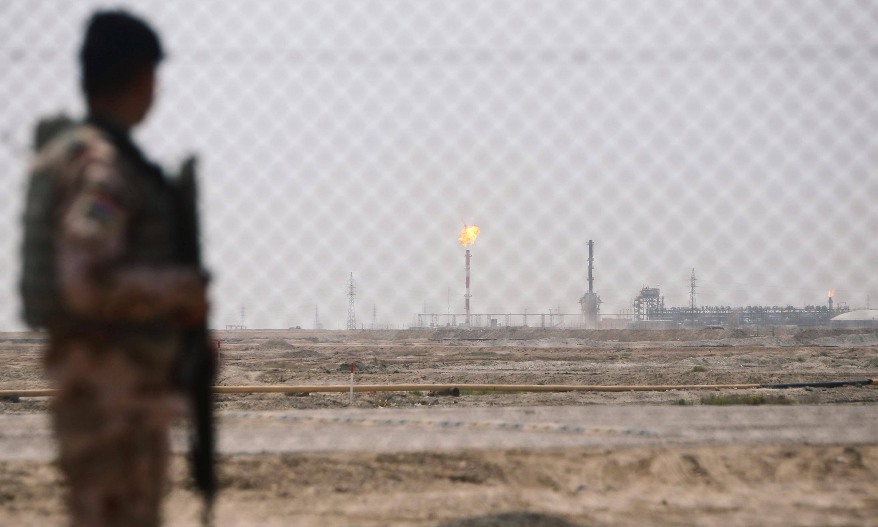 Iraq rocket attack: two injured in Basra compound housing foreign oil companies