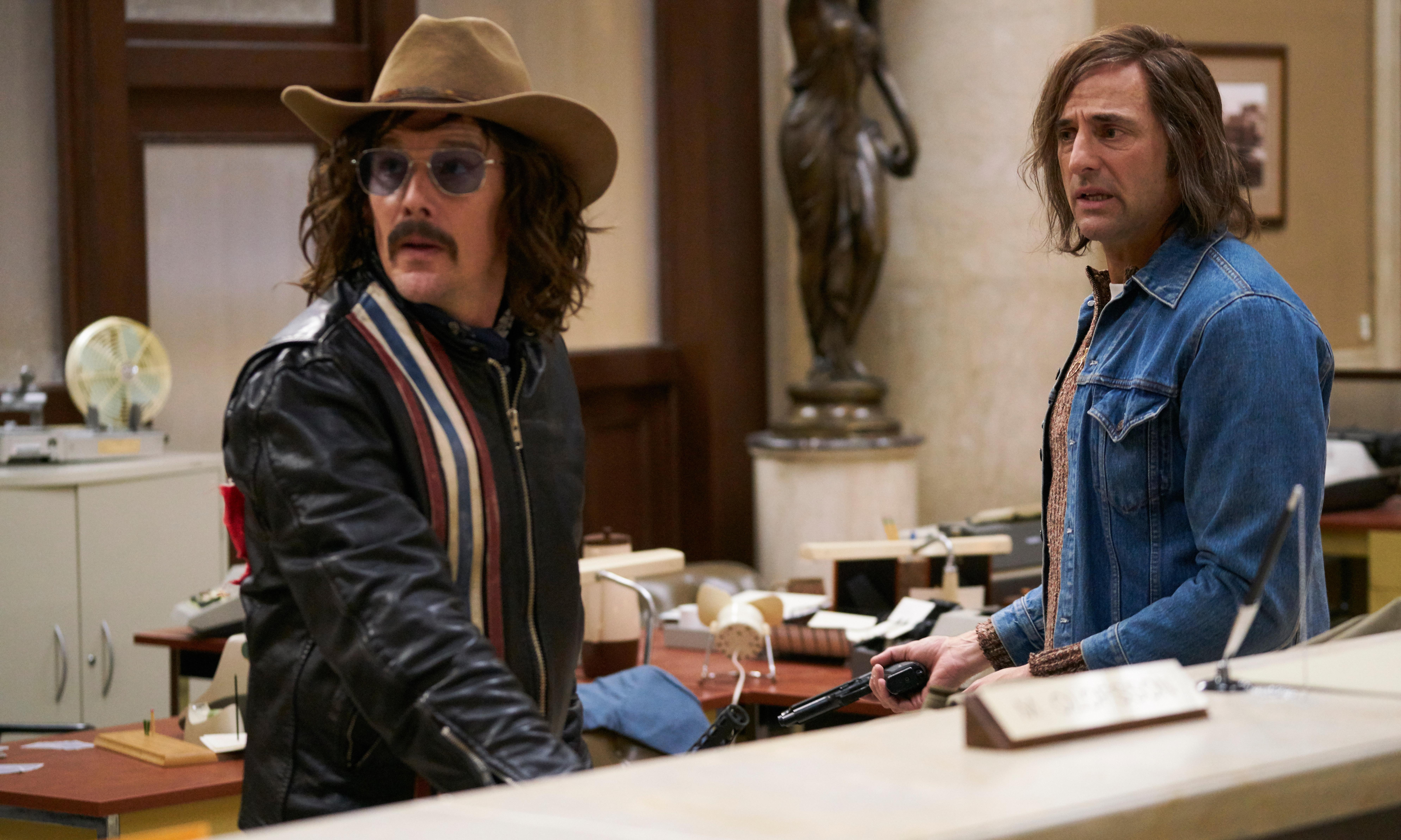 The Captor review – Ethan Hawke spreads Stockholm syndrome