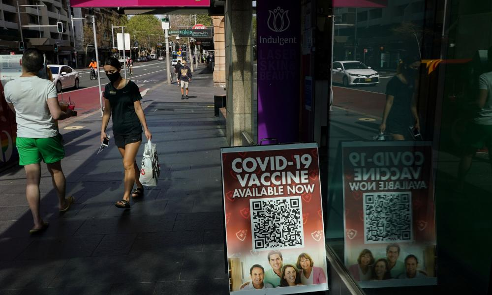 Restrictions will ease in NSW when the state reaches a double-dose vaccination rate of 70%.