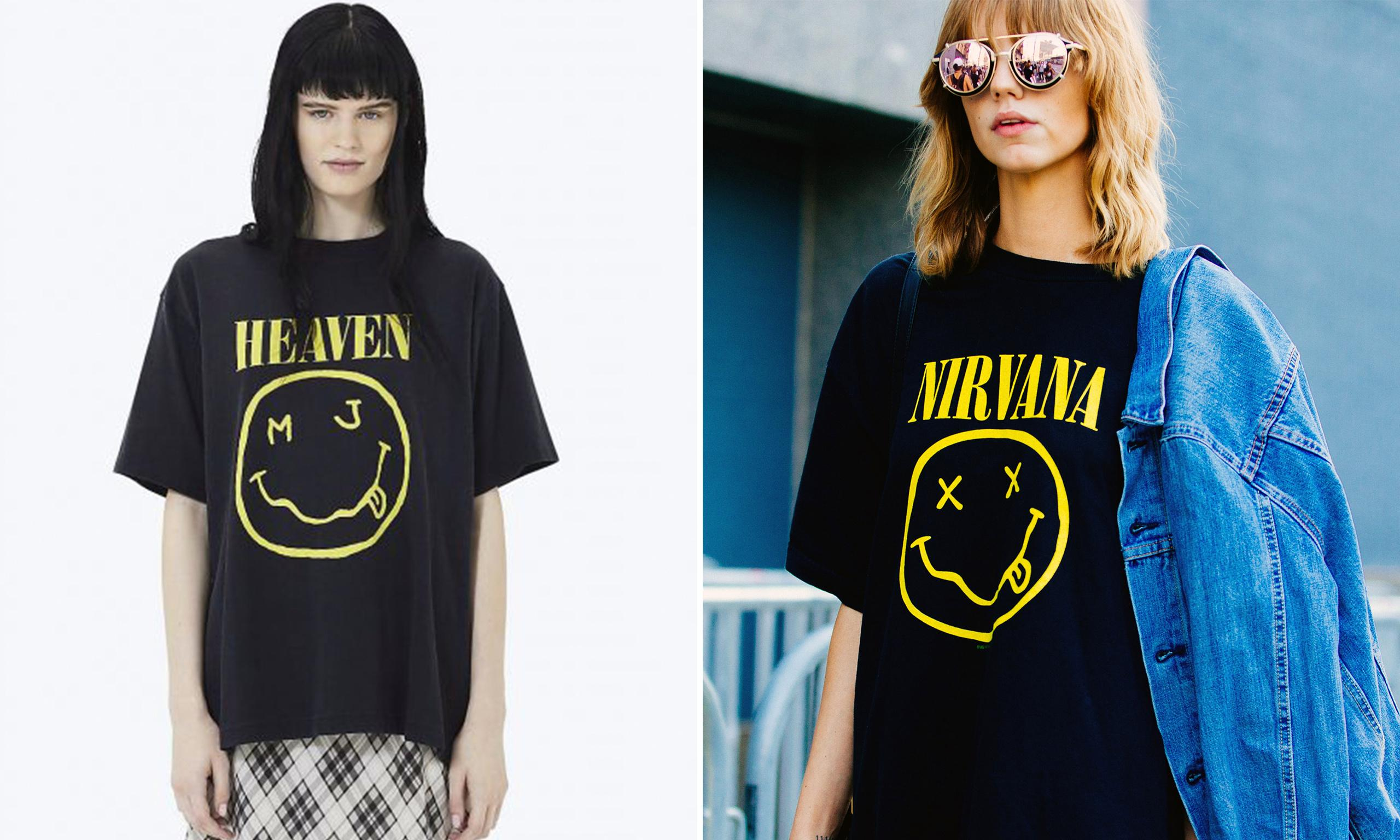 Marc Jacobs countersues Nirvana in T-shirt copyright dispute