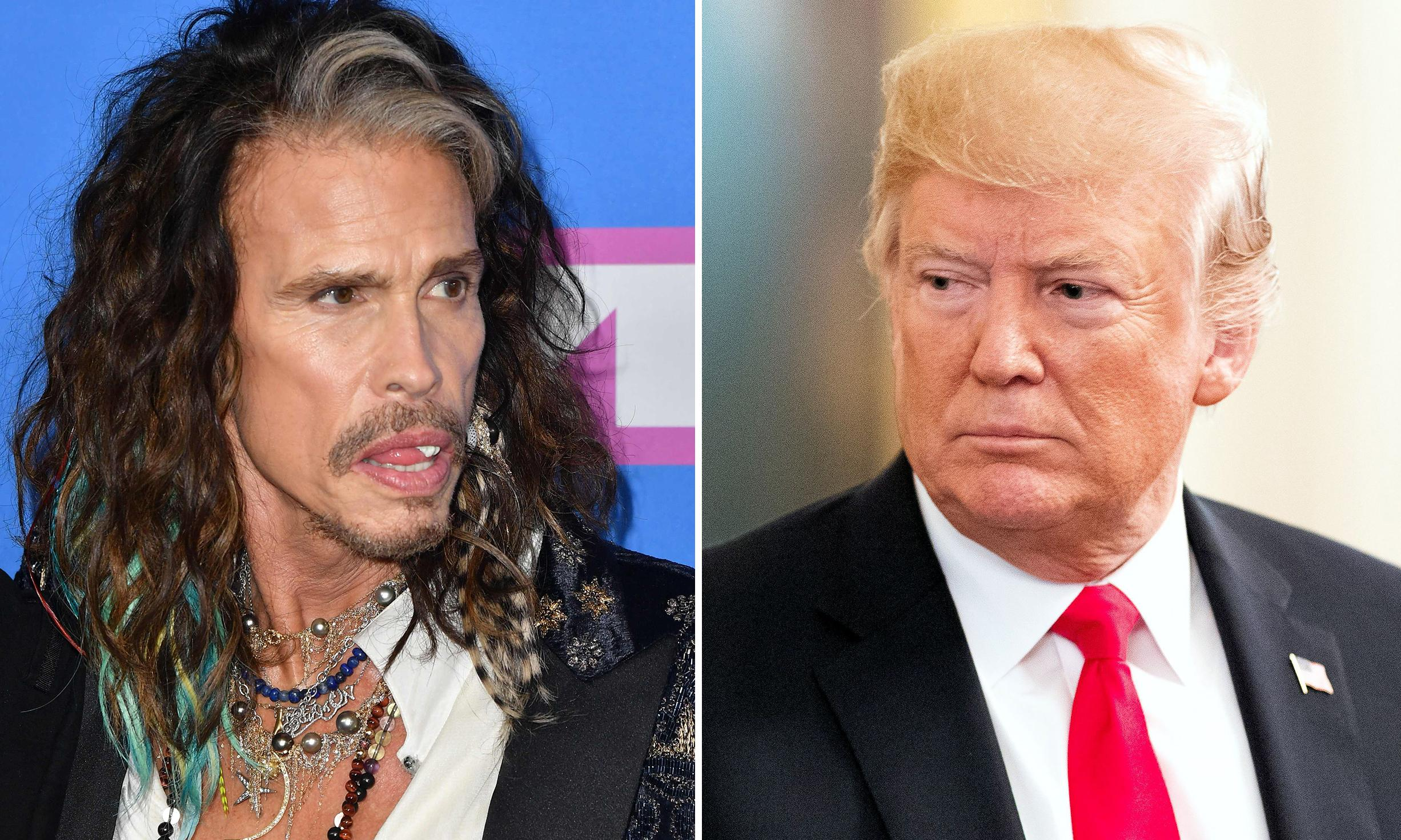Steven Tyler orders Donald Trump to stop playing Aerosmith music at rallies