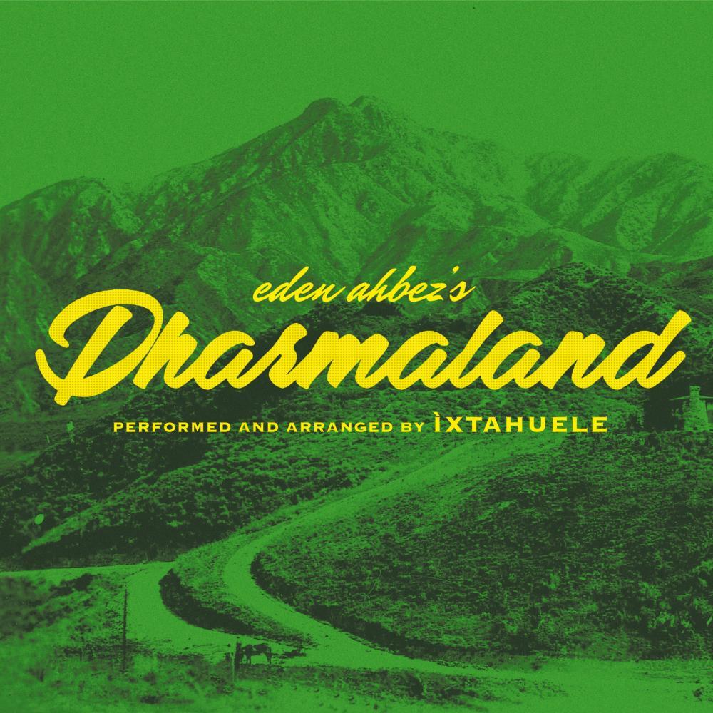 The artwork for Eden Ahbez's Dharmalan.