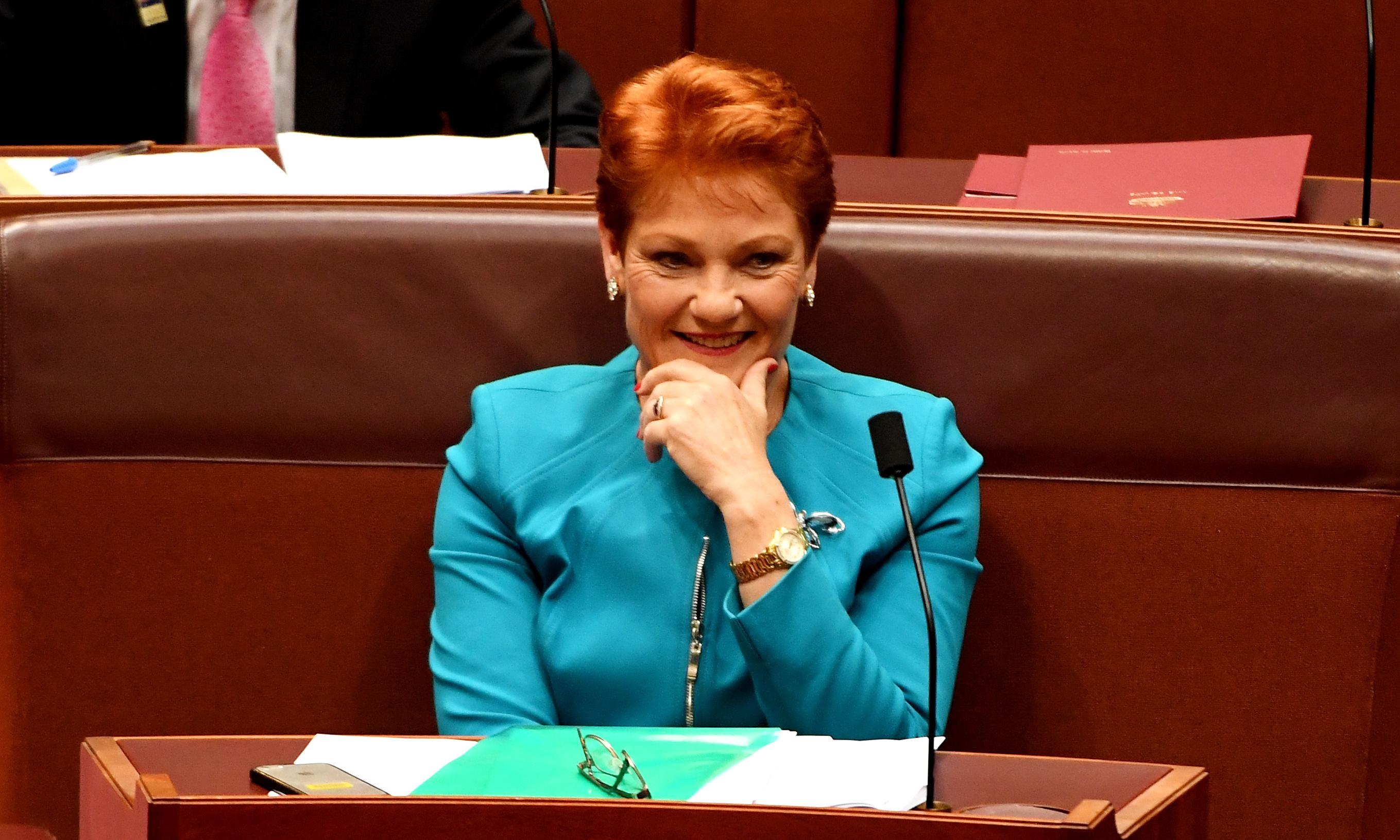 Kevin Andrews refuses to condemn Hanson over 'lying' women claim