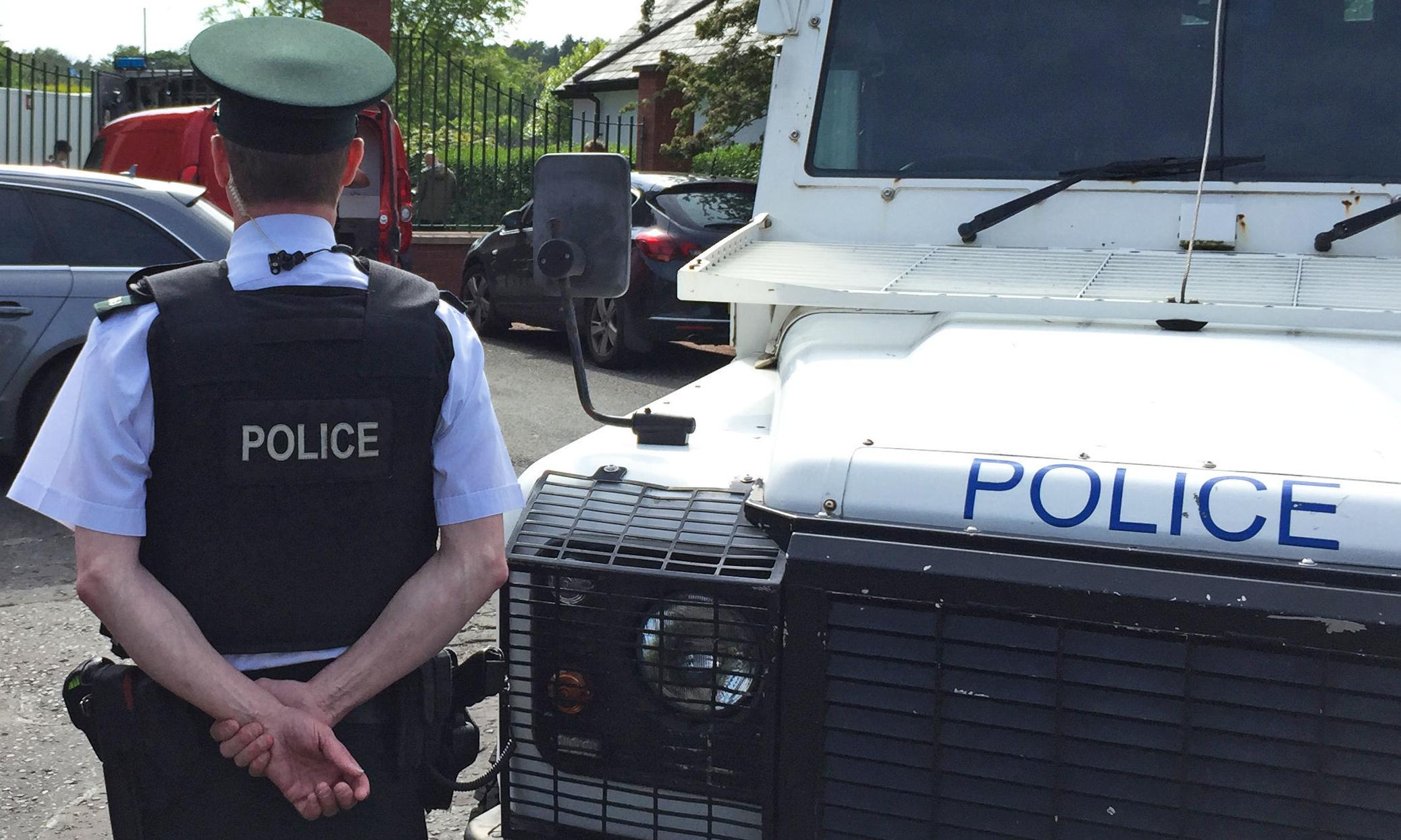 Belfast grenade attack on police car 'was attempt to kill officers'