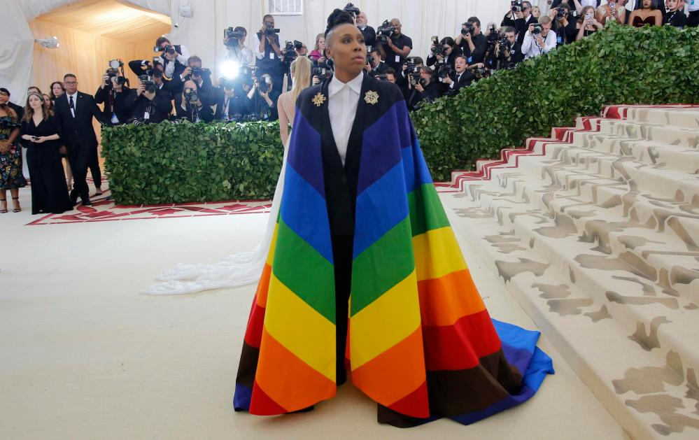 Lena Waithe arrives at the Met Gala