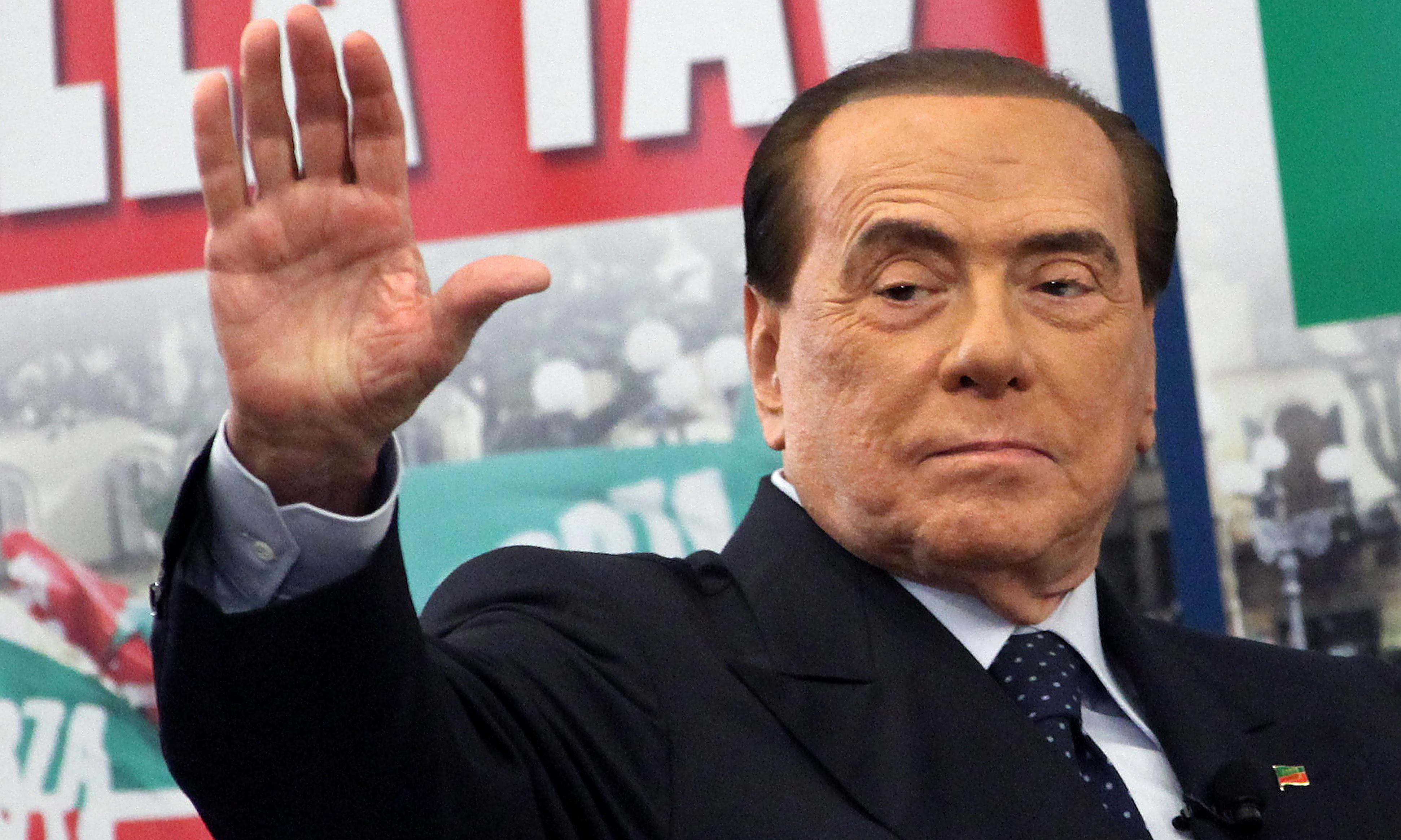 Silvio Berlusconi says he intends to stand for European parliament