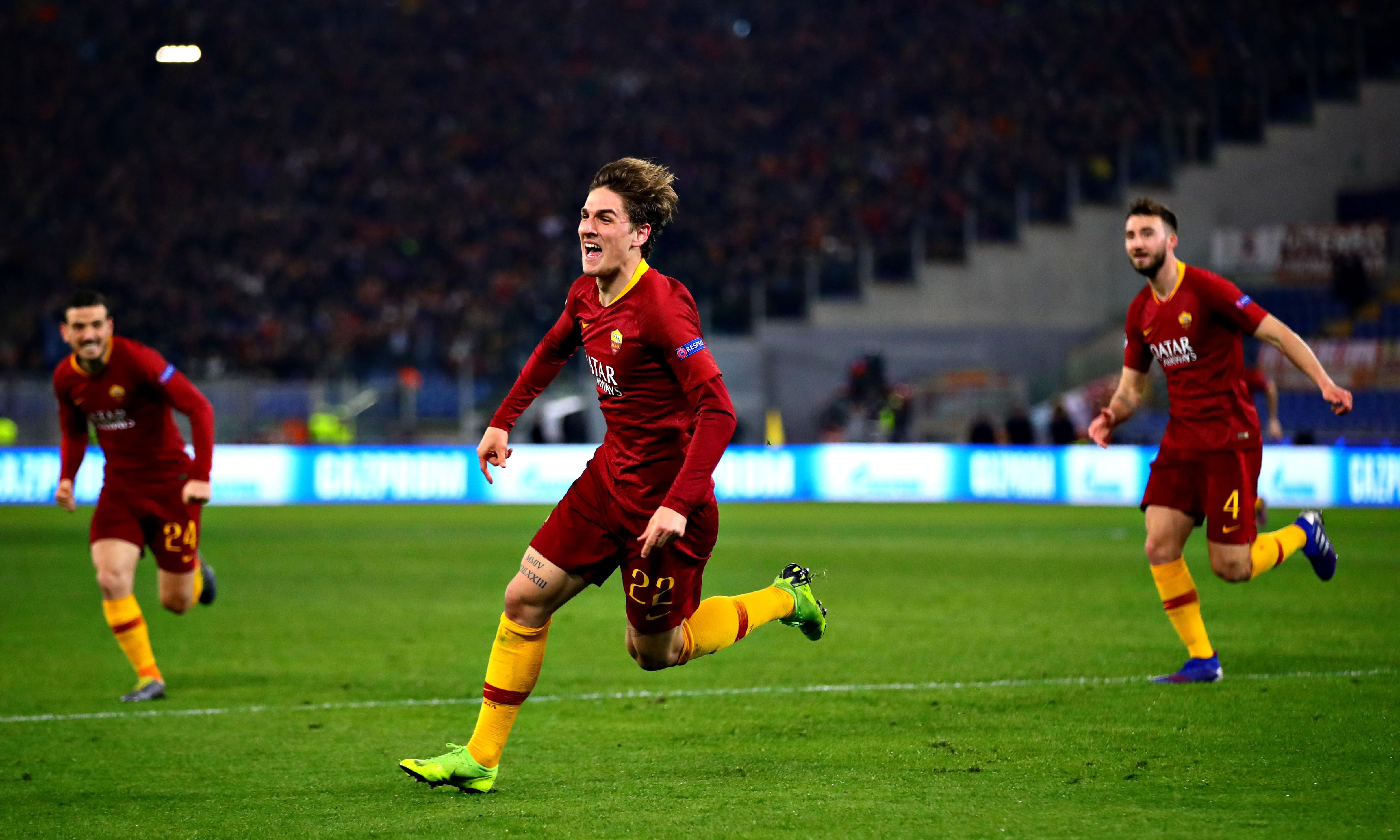 Roma's Nicolò Zaniolo: 'I'm not Totti, but one day I hope to be as good'