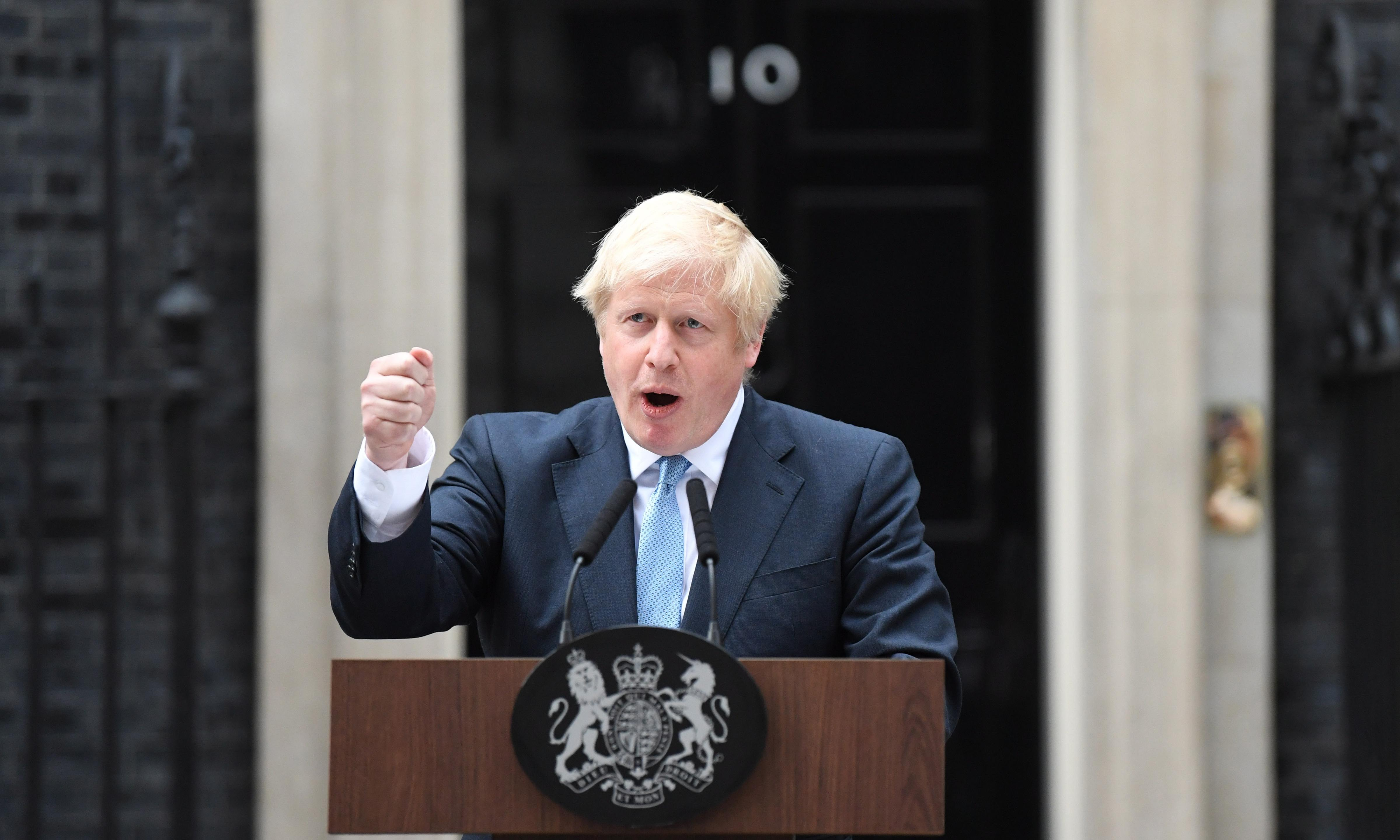 The Guardian view on Johnson's campaign pitch: save my job