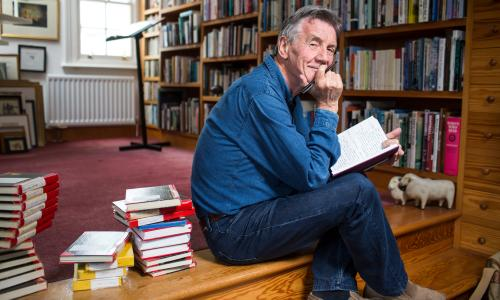 "Michael Palin: ""The diaries are on a good day, a celebration of what you've done."""