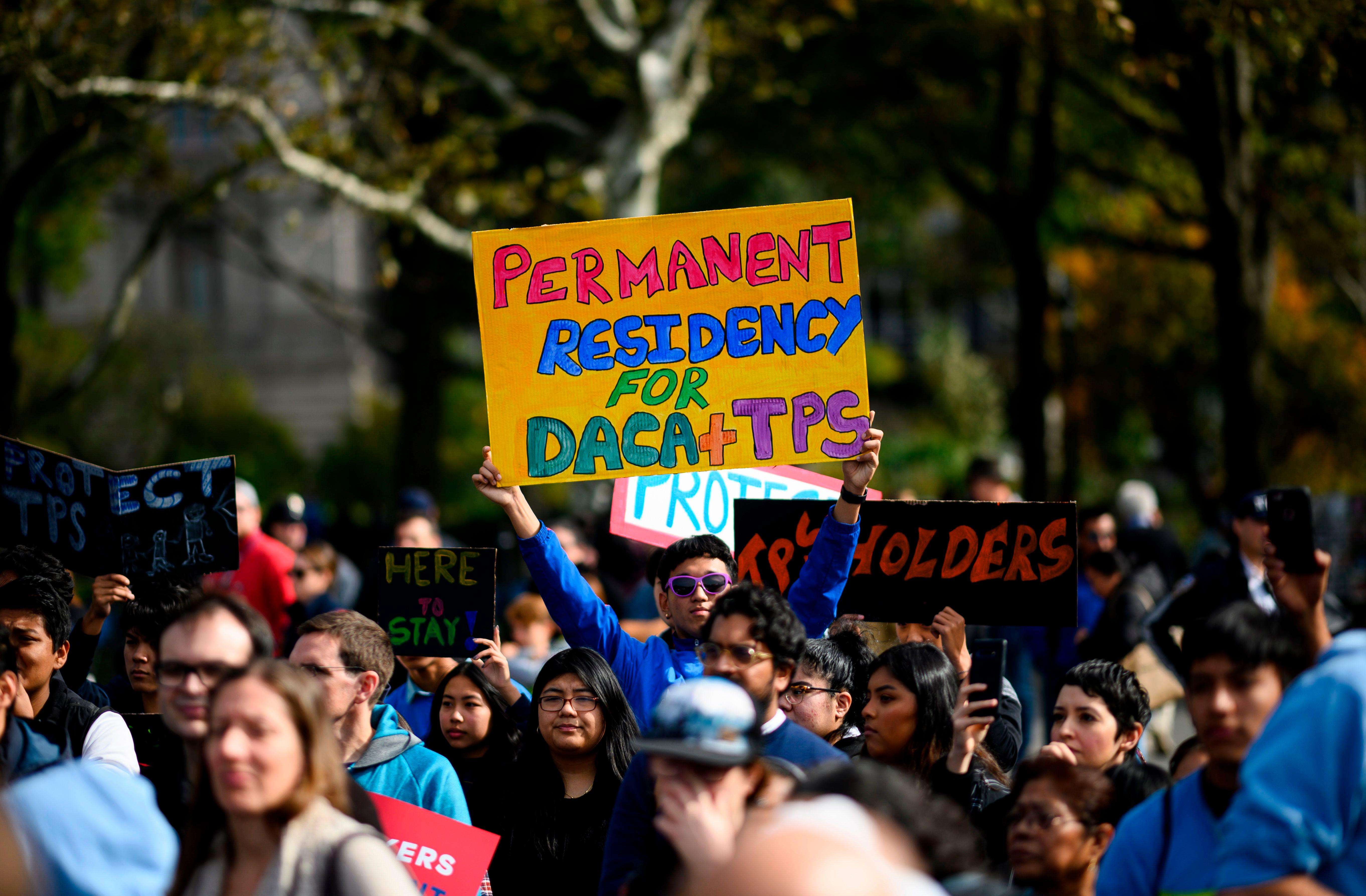 Dreamers prepare for fight as Daca decision heads to supreme court