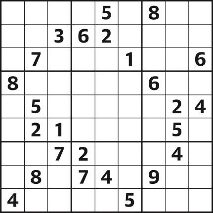 Sudoku 4,401 hard
