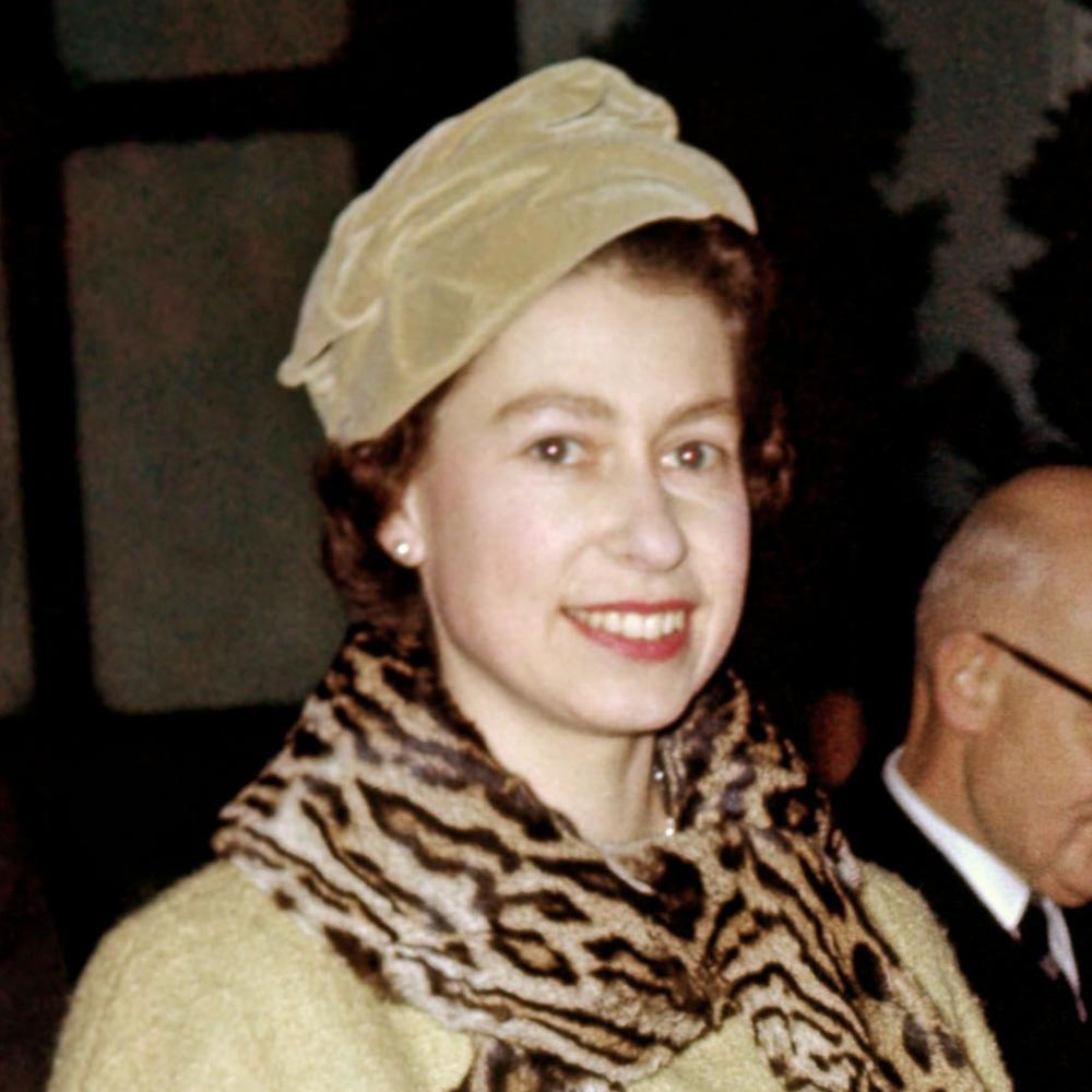 Queen Elizabeth in 1958.
