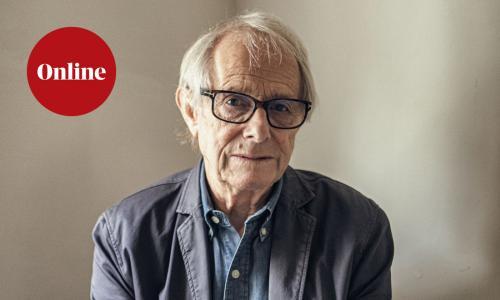 British film director, Ken Loach