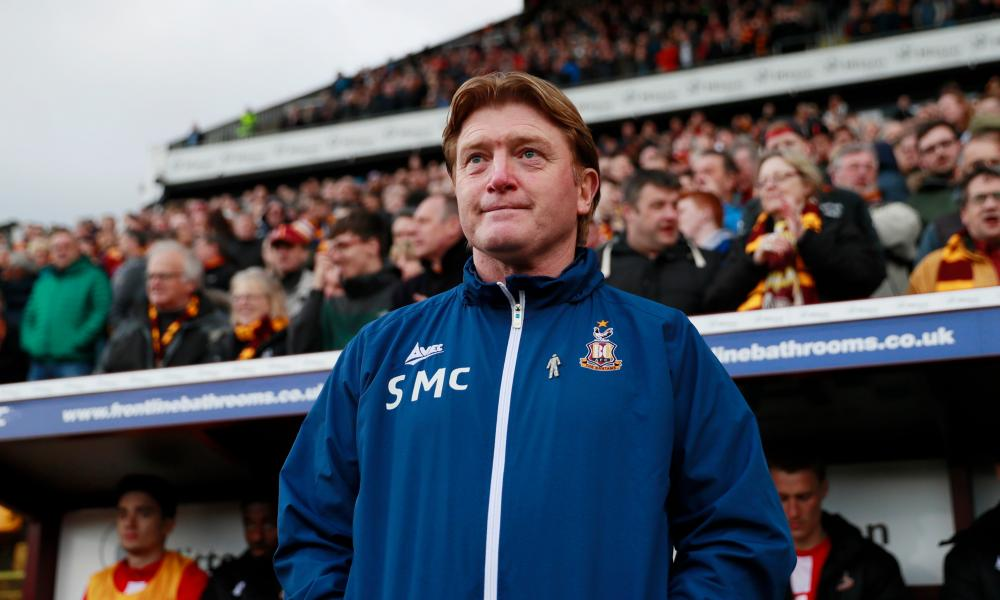 Bradford City manager Stuart McCallhas fostered a strong team spirit at Valley Parade.