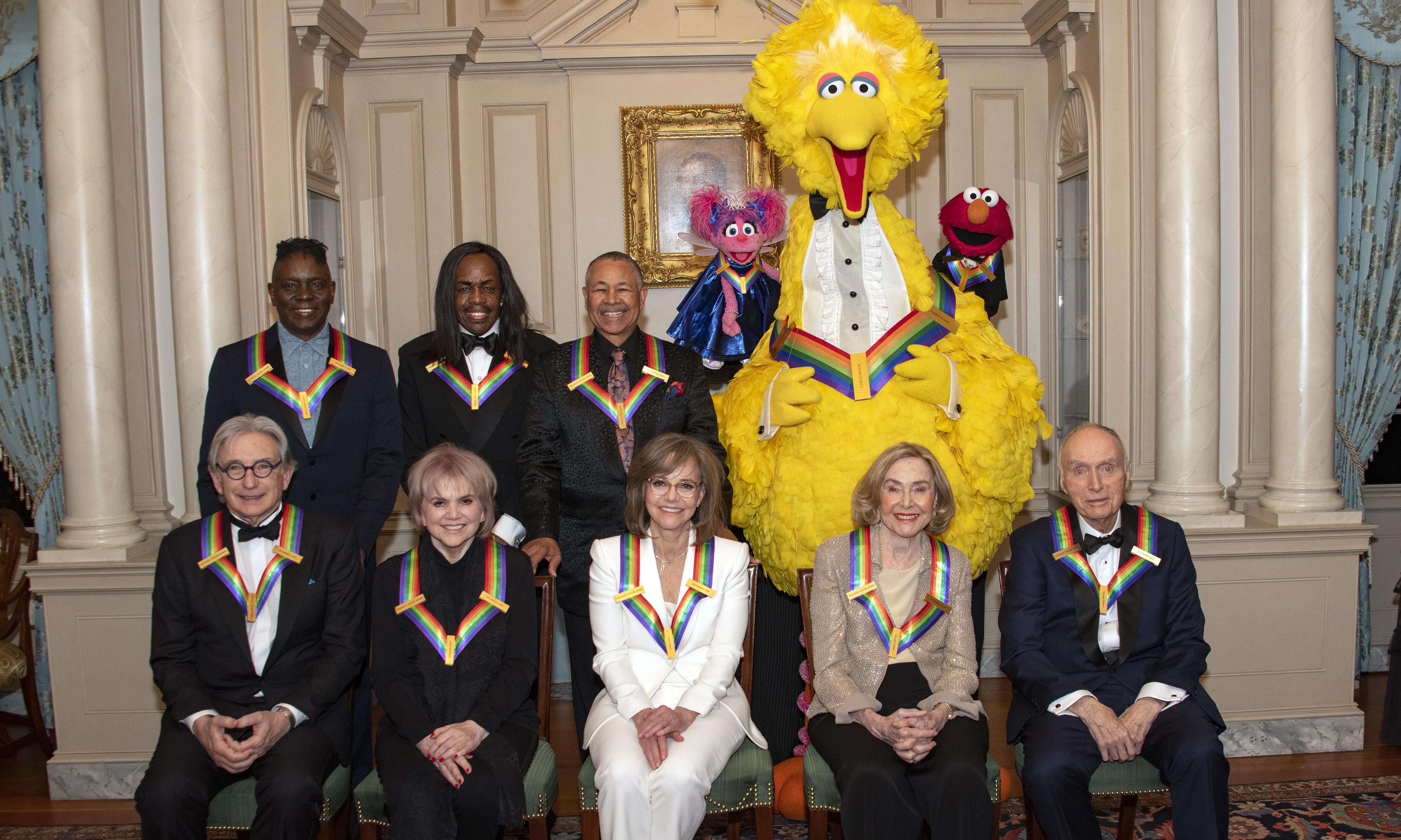 Sesame Street receives Kennedy Center Honors to rare bipartisan cheer