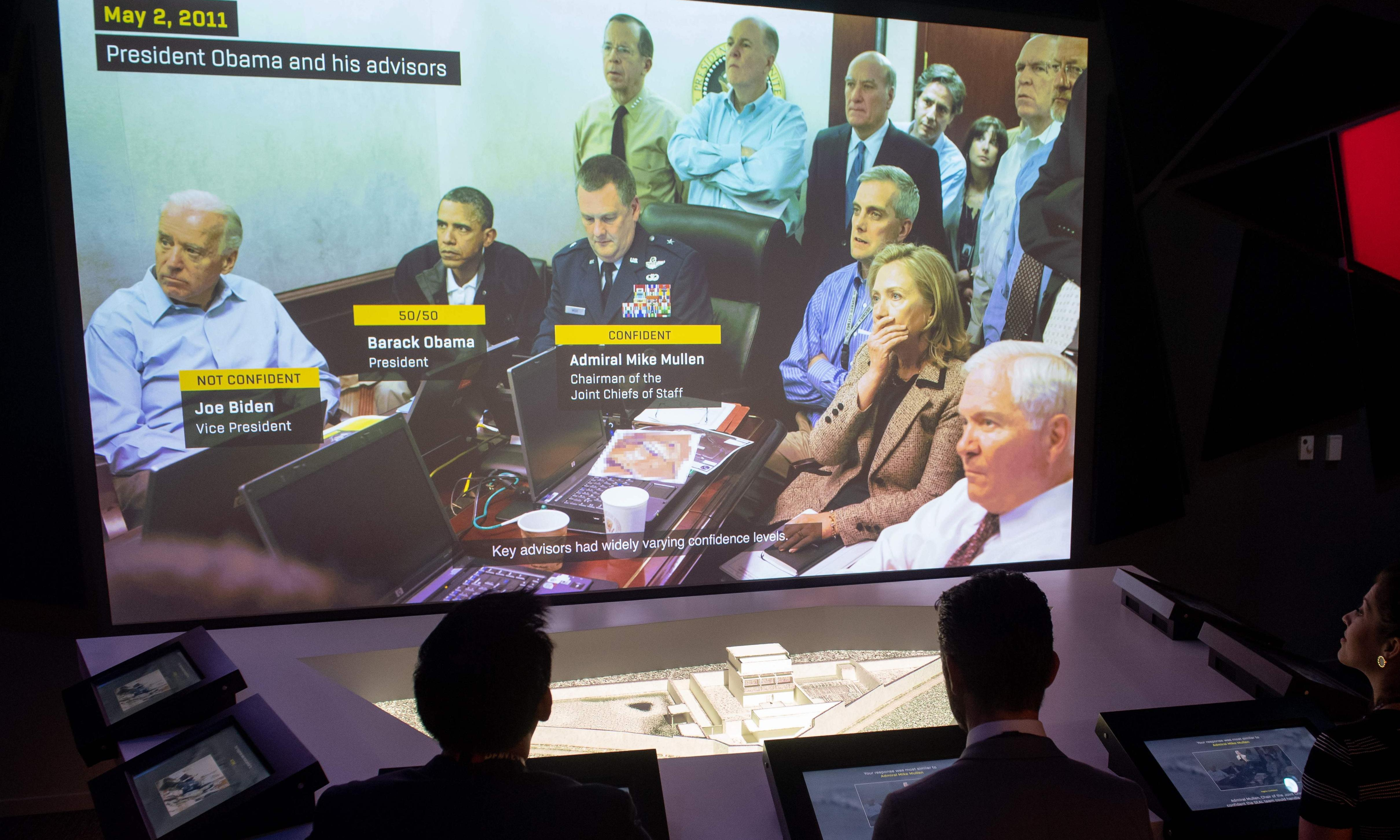 Now kids, help us to kill Bin Laden! The dark side of Washington's spy museum