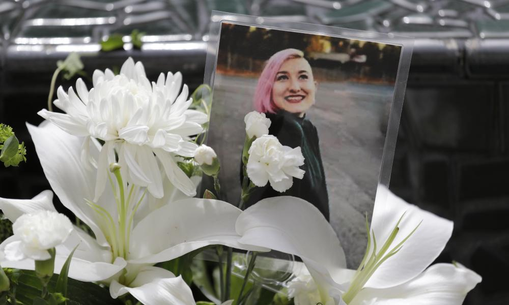 A photo of Summer Taylor, who suffered critical injuries and died after being hit by a car while protesting over the weekend