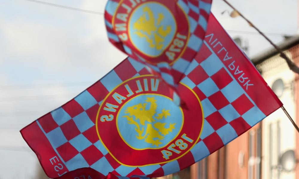 Aston Villa v Manchester United - Premier LeagueBIRMINGHAM, ENGLAND - DECEMBER 20: Aston Villa flags fly on the streets outside the grounbd prior to the Barclays Premier League match between Aston Villa and Manchester United at Villa Park on December 20, 2014 in Birmingham, England. (Photo by Clive Mason/Getty Images)