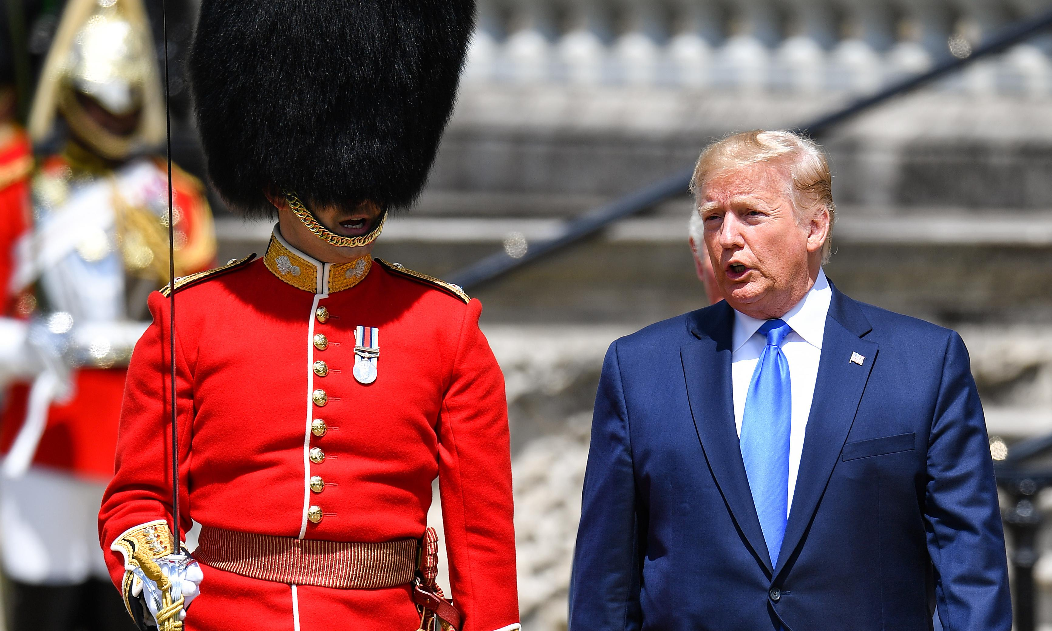 An absolute state of a visit: what the Trump and Windsor snapshots tell us