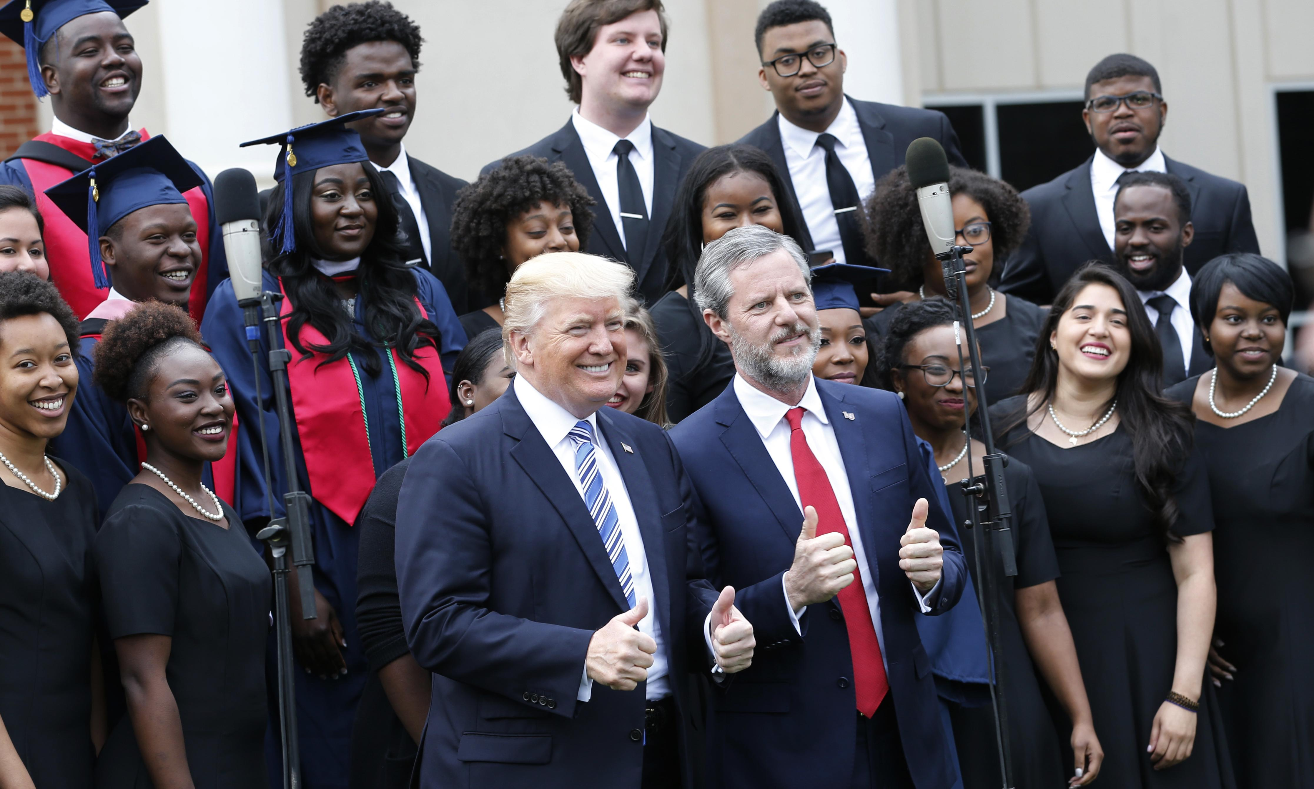 'Toxic Christianity': the evangelicals creating champions for Trump