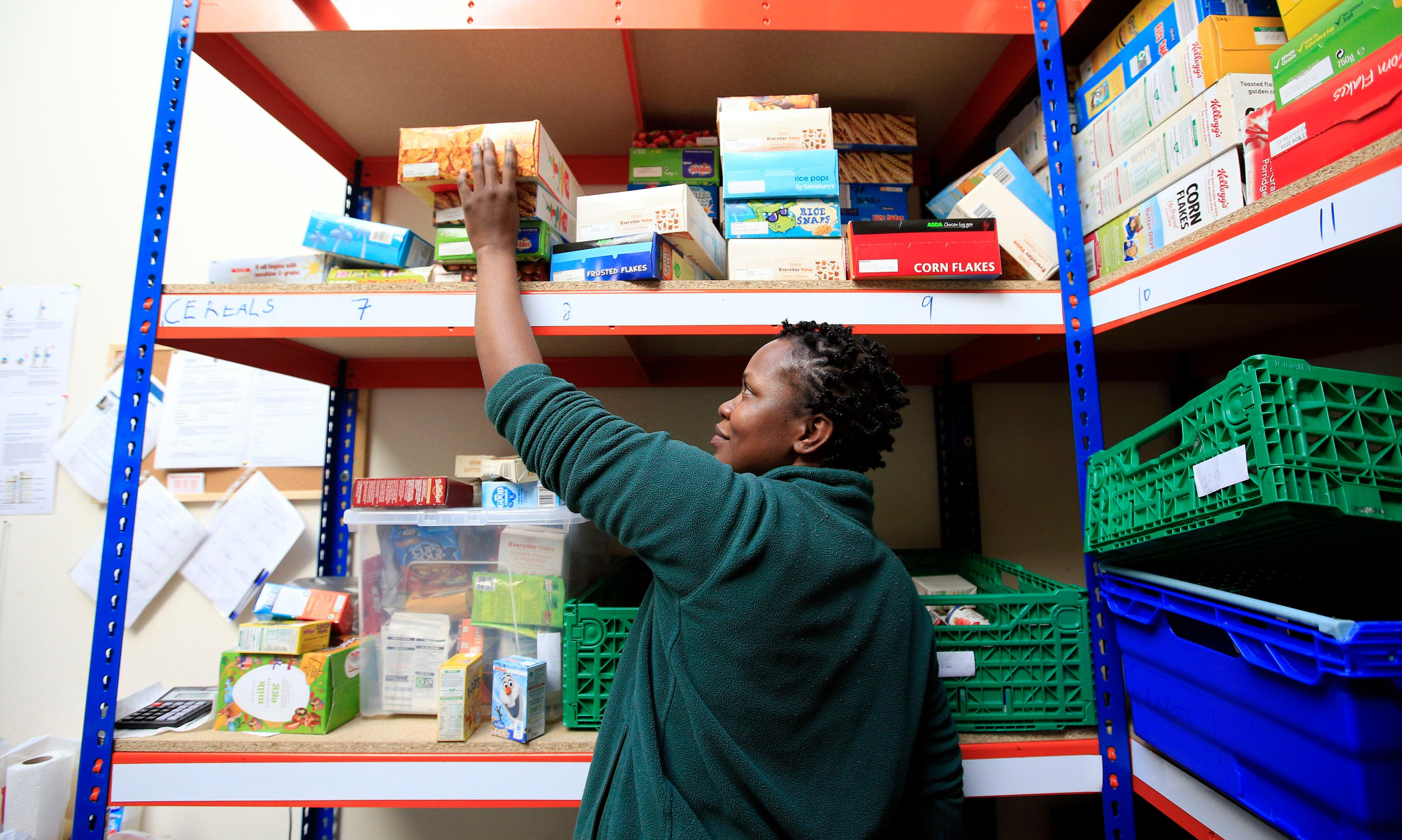 While Britain forces its disabled people to food banks, it is unfit for the 21st century