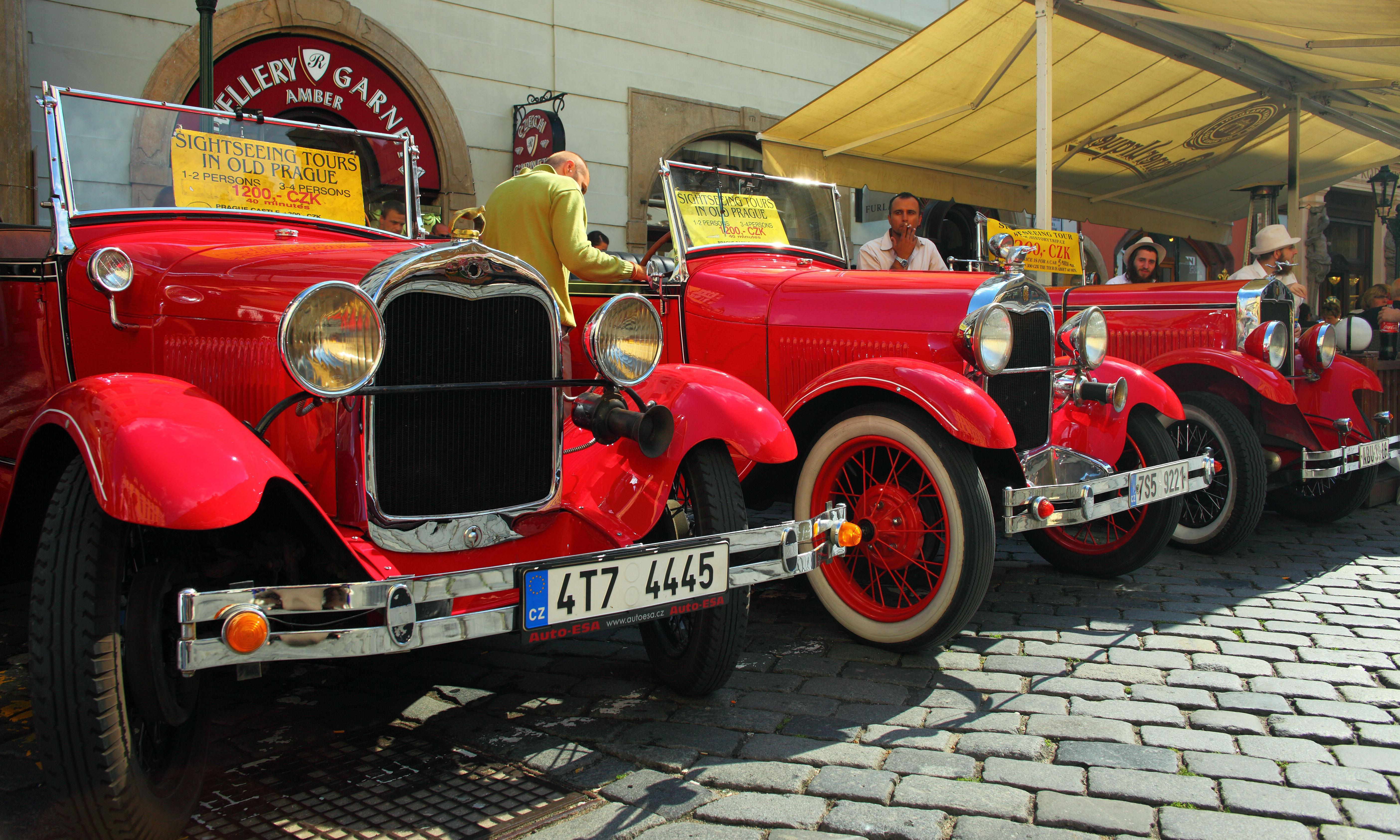 Prague vows to force dangerous imitation vintage cars off the road
