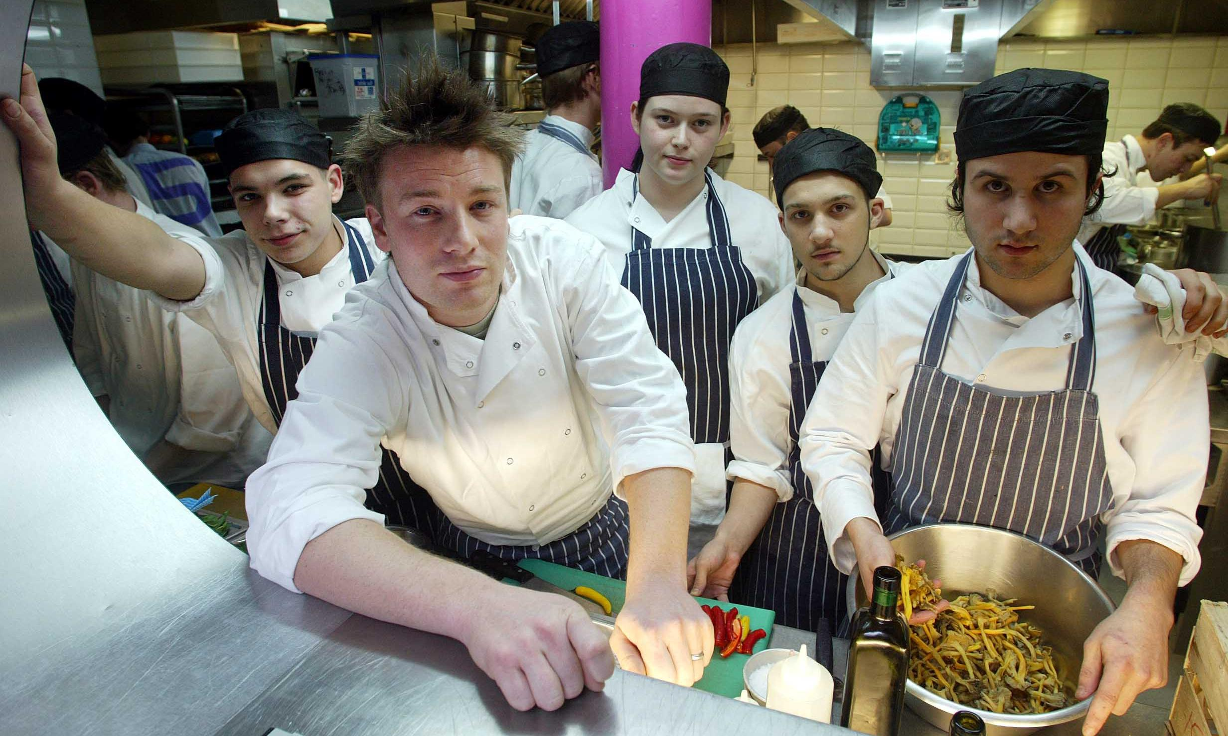 Jamie Oliver gave us our big break in the kitchen – and he's still our hero