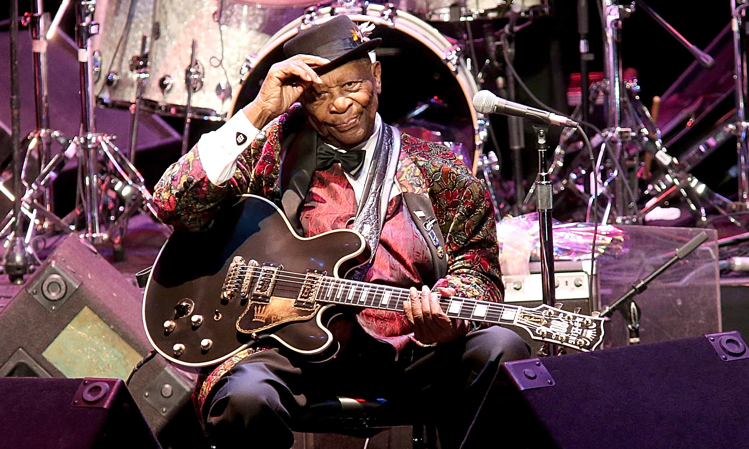 BB King's 'Lucille' guitar to be auctioned along with other personal items