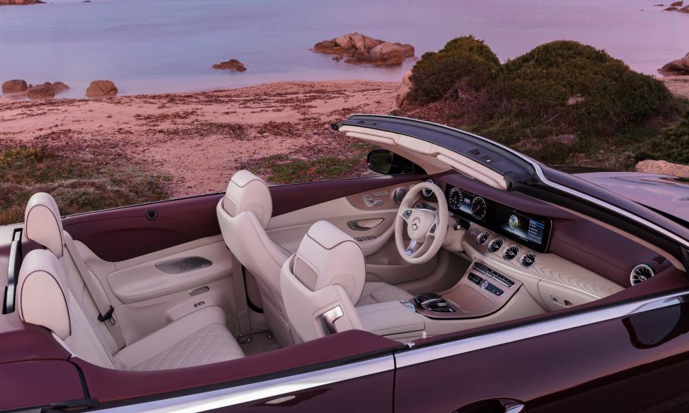 Backseat luxury: few other makers have mastered the four-seat cabriolet as well as Mercedes
