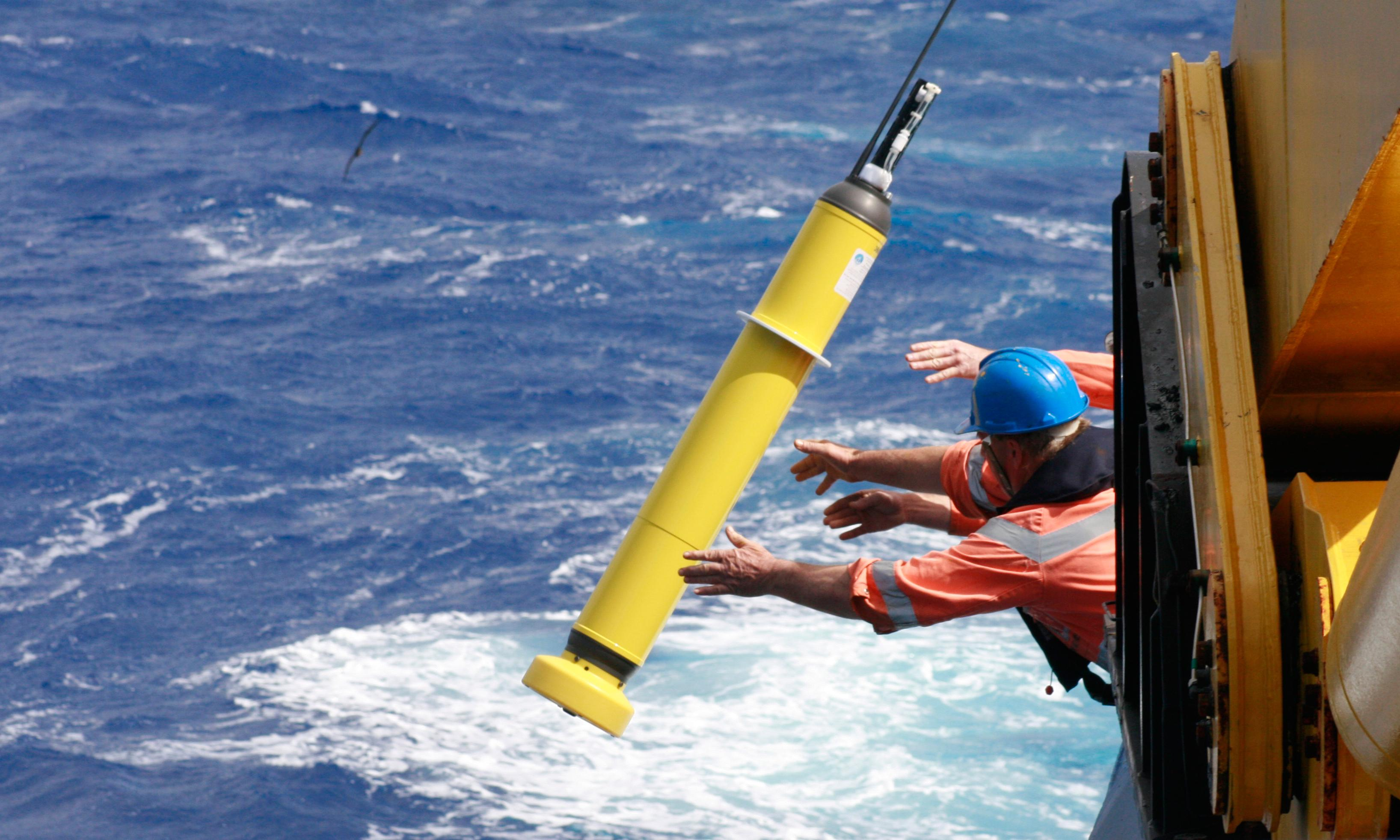 Global warming of oceans equivalent to an atomic bomb per second