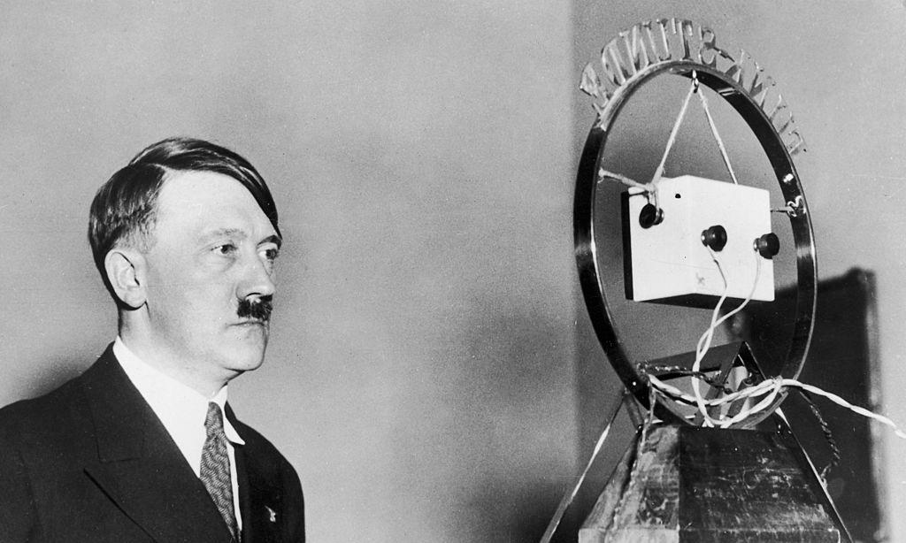 For a time, Hitler was seen as comic