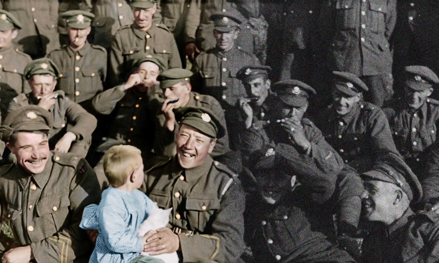 'The faces are unbelievable': Peter Jackson on They Shall Not Grow Old