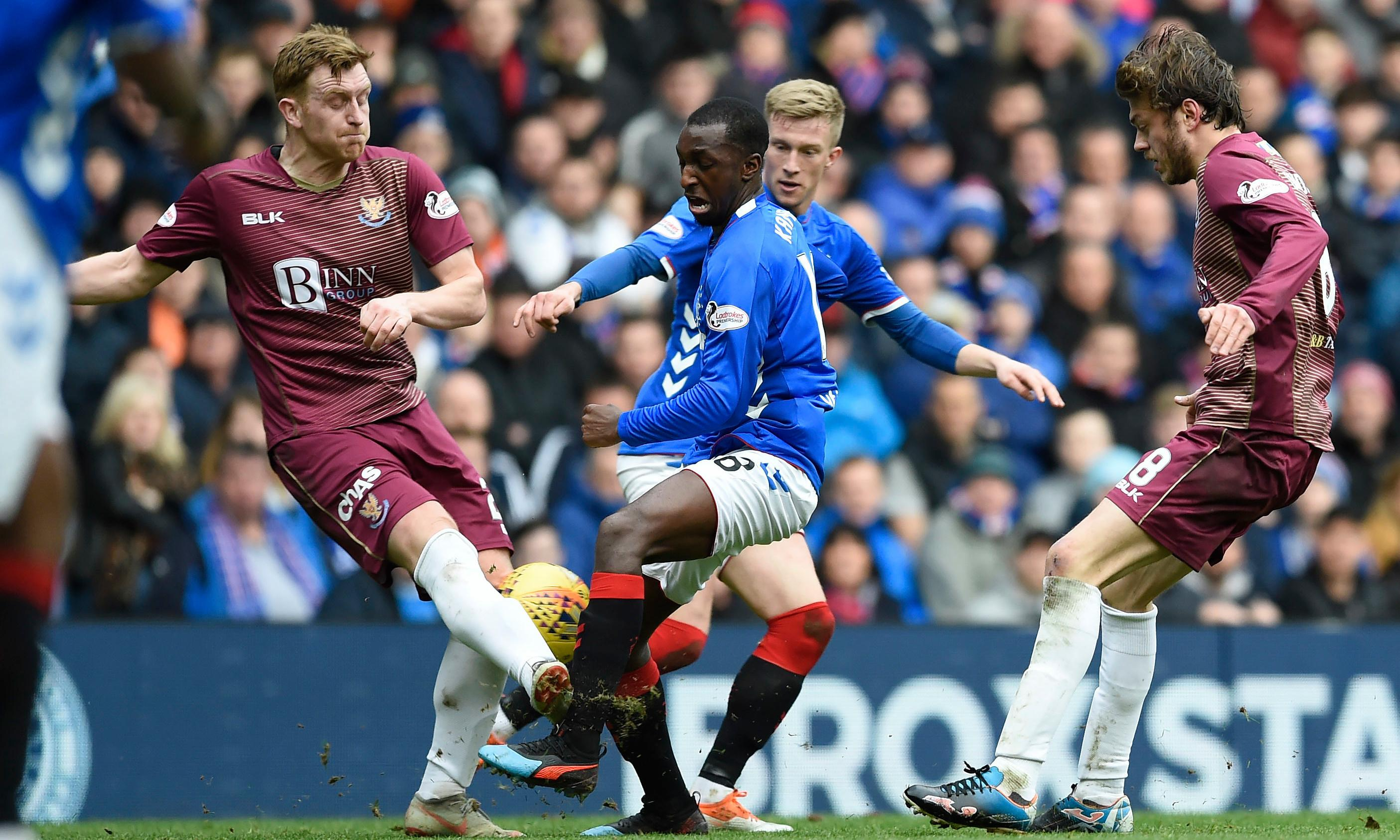 Blunt Rangers lose ground on Celtic after St Johnstone stalemate