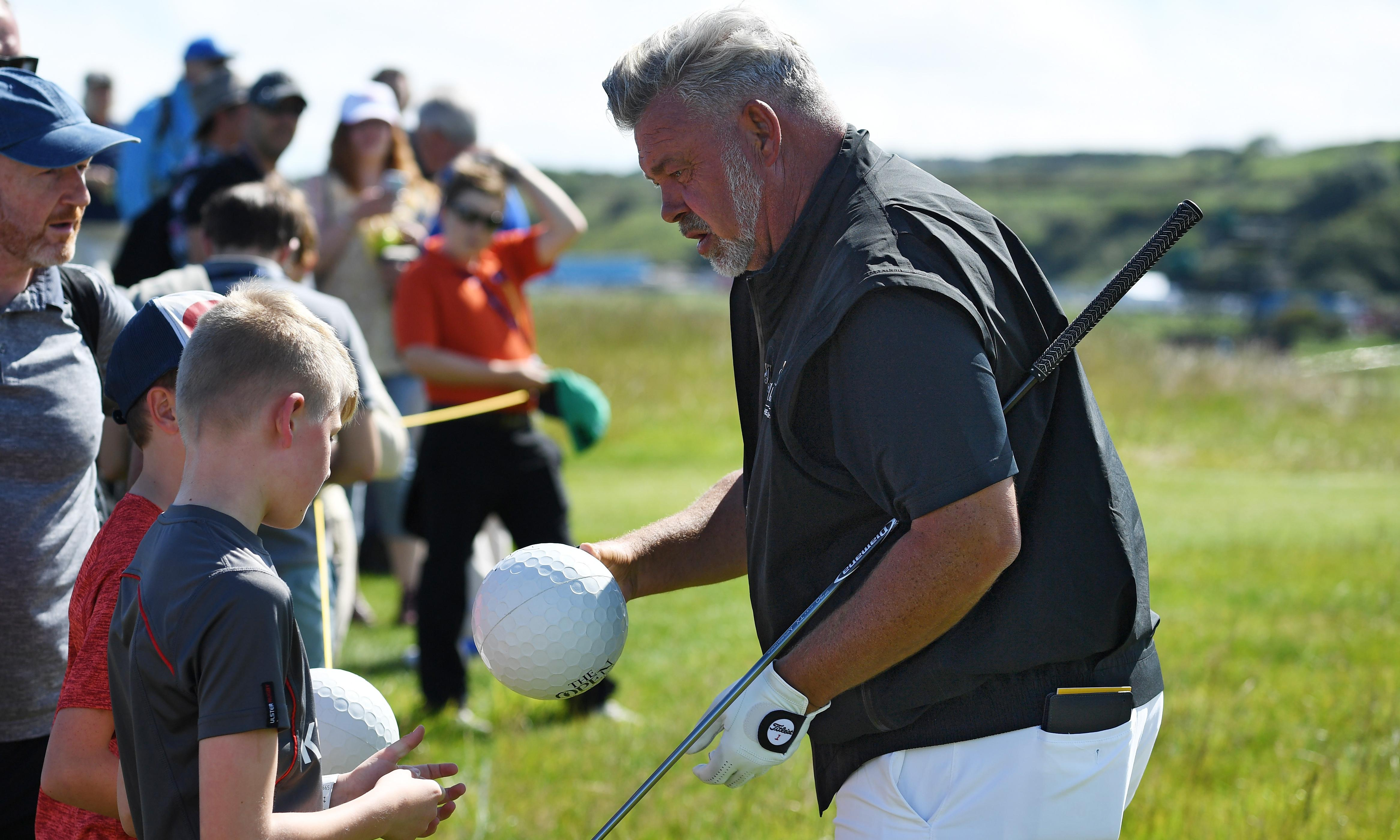 Darren Clarke accepts offer to hit first tee shot of the Open at Royal Portrush