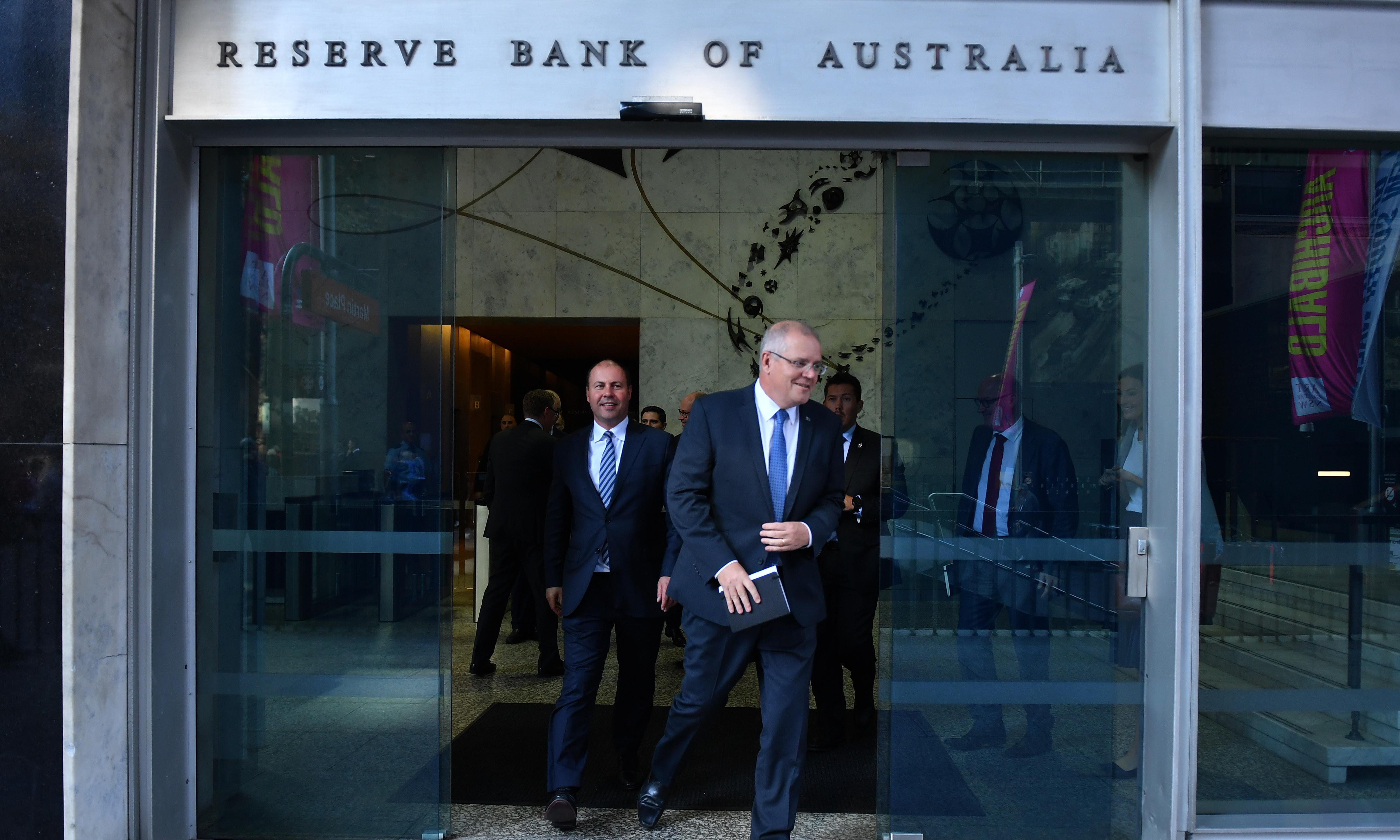 It's absurd to suggest that rate cuts are good news for the government