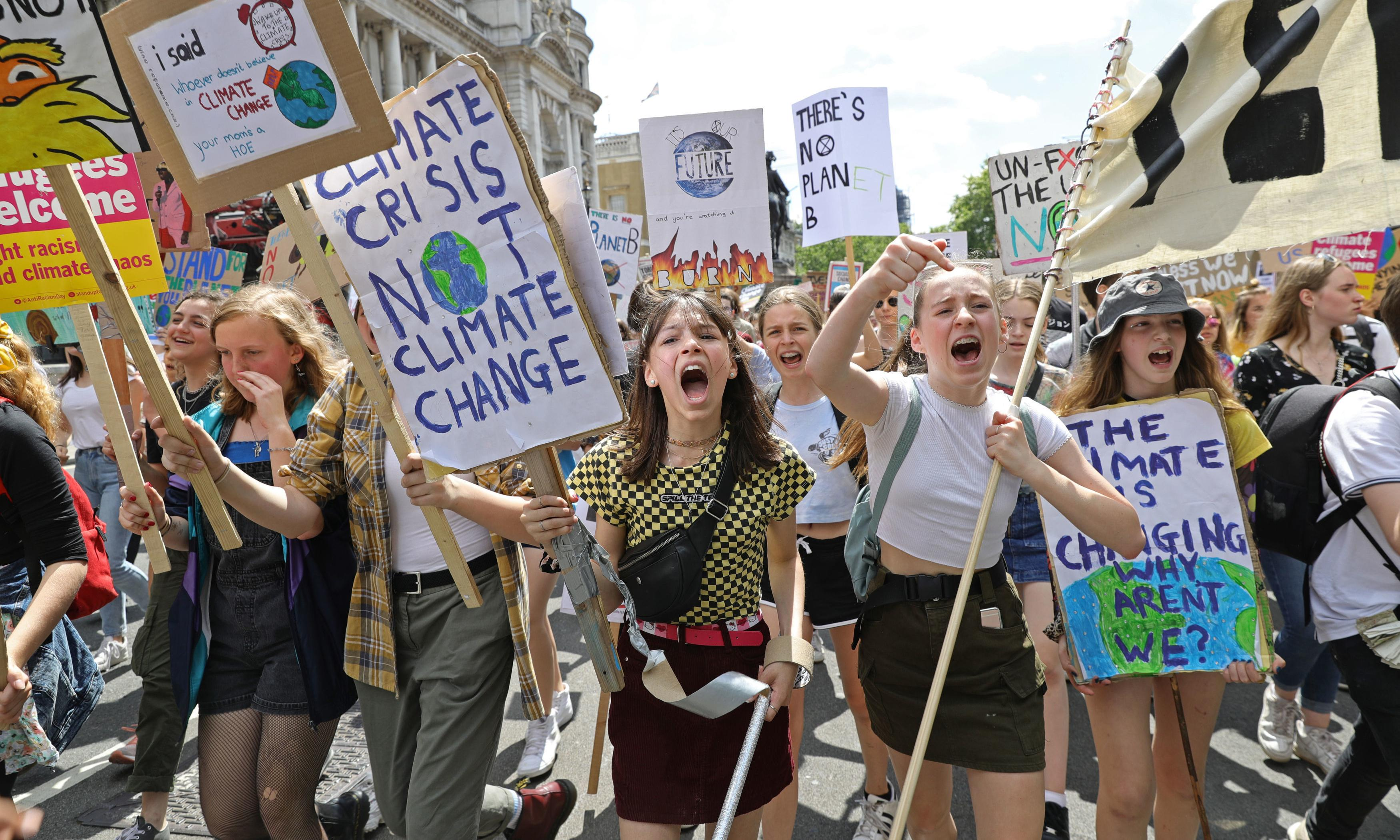 Two-thirds of Britons want faster action on climate, poll finds