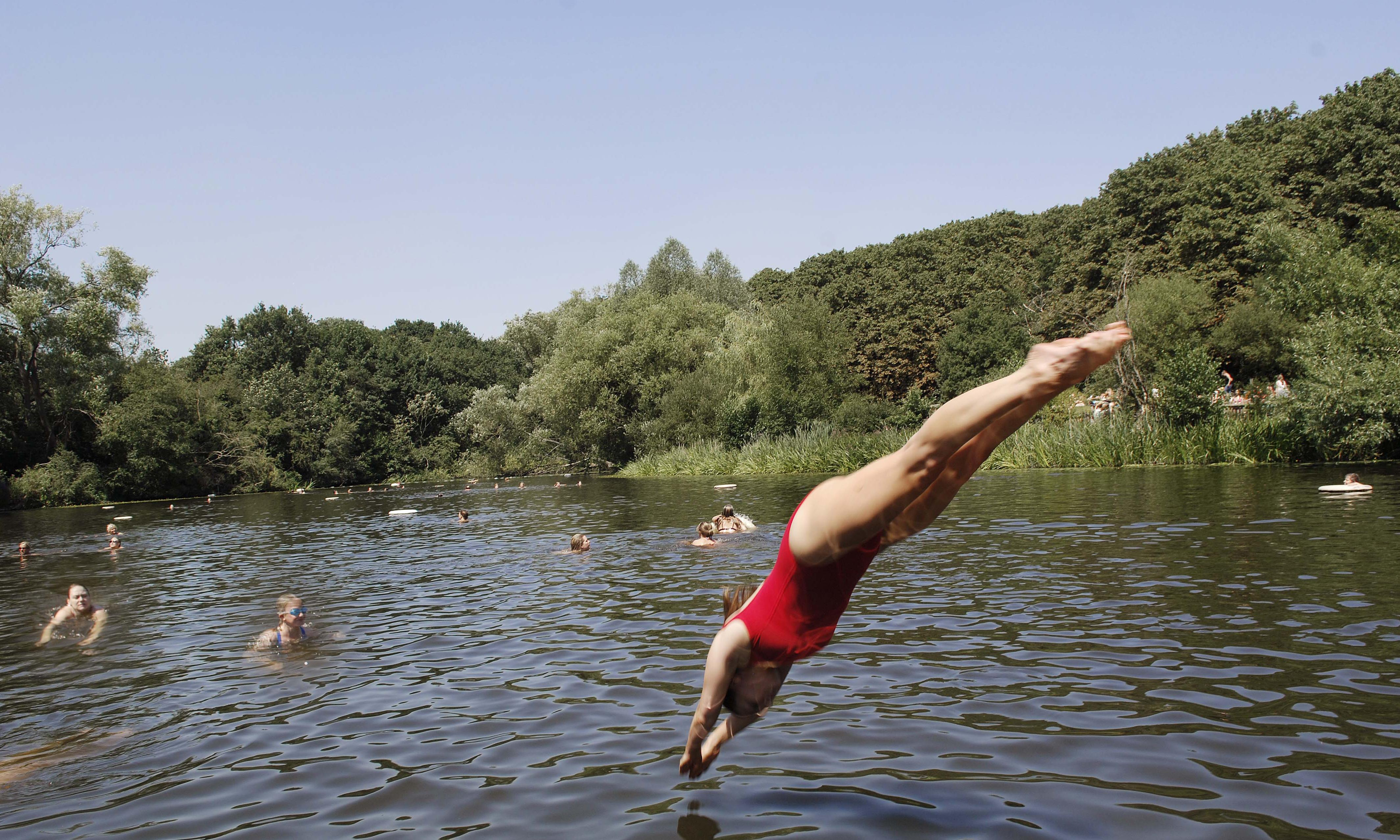 Don't fence in our fun, say wild swimmers