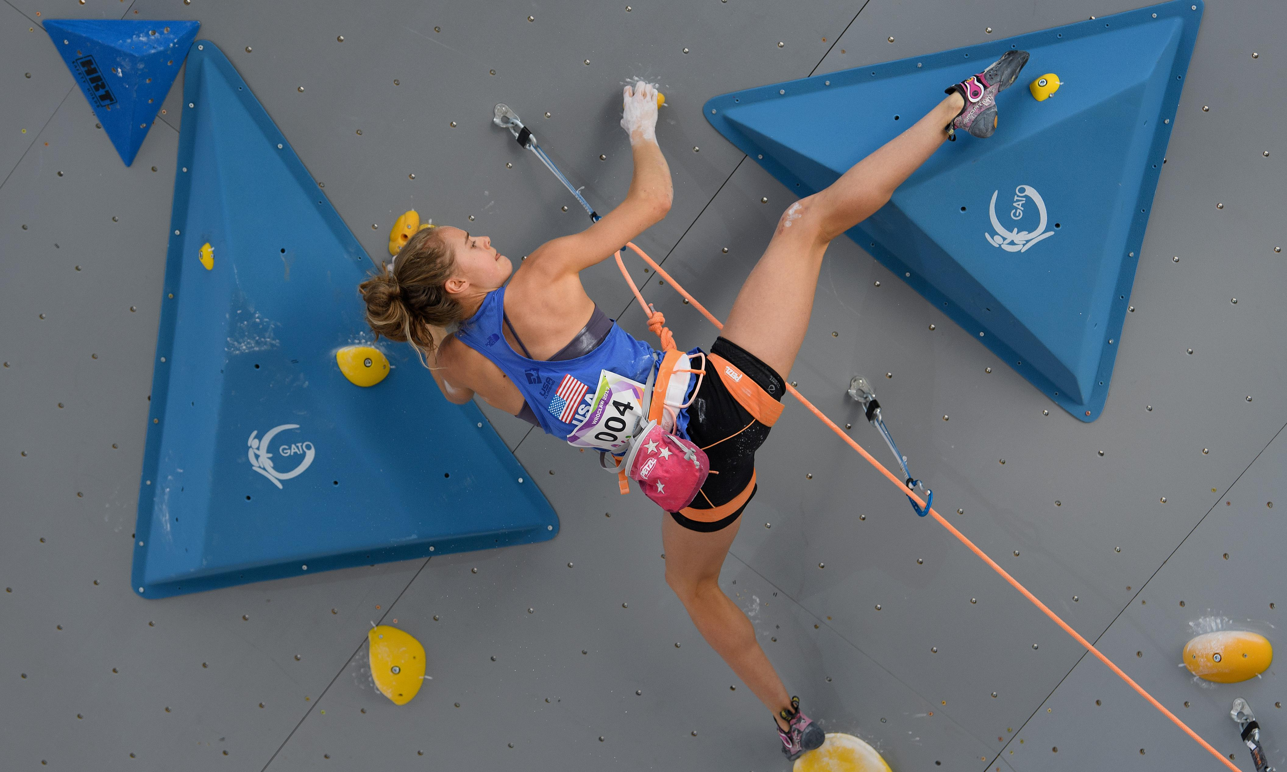 'She sees possibility': How a teen rock climber shattered a gender barrier